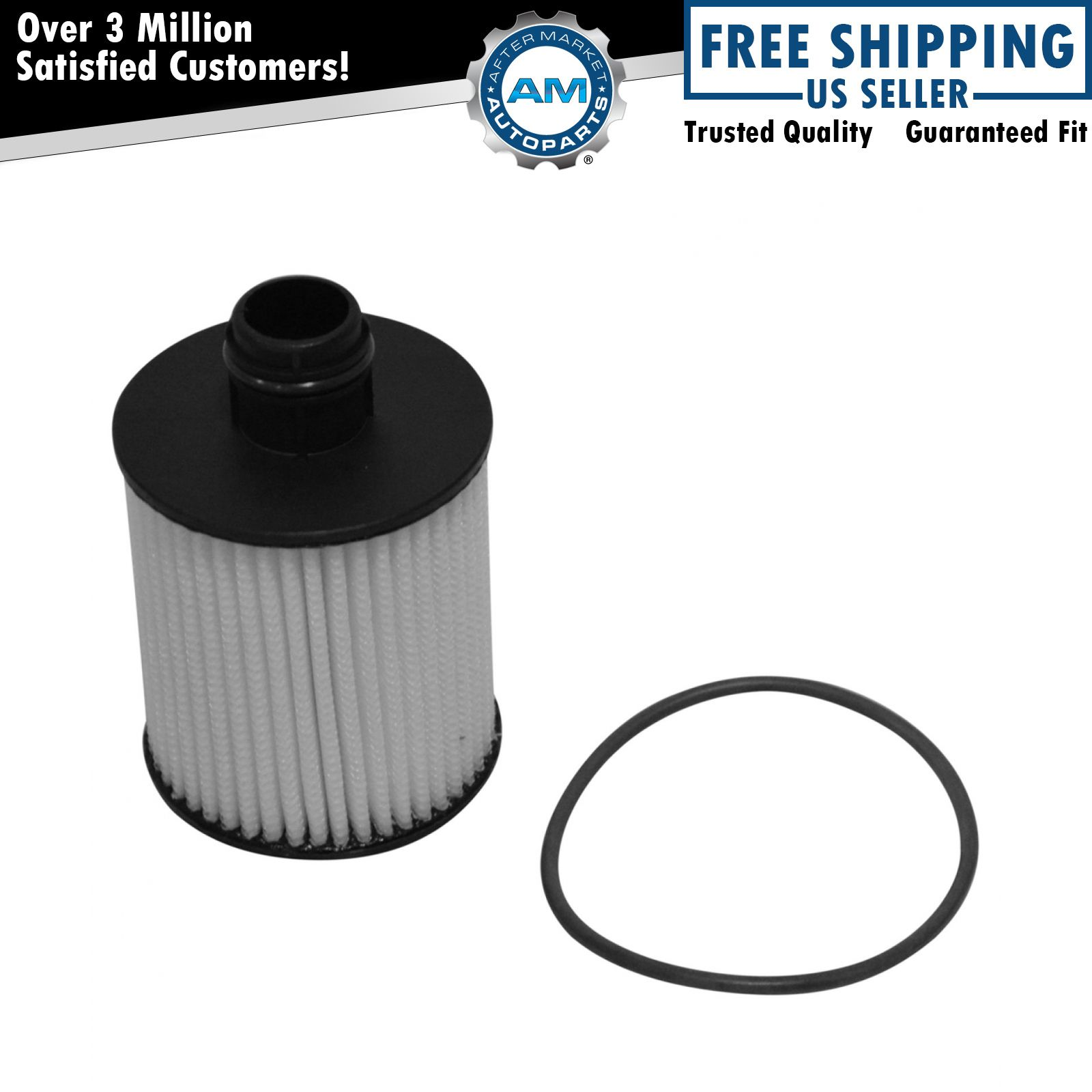 Ac Delco 19301505 Engine Oil Filter Cartridge For Chevy Cruze 20 Fuel Diesel New