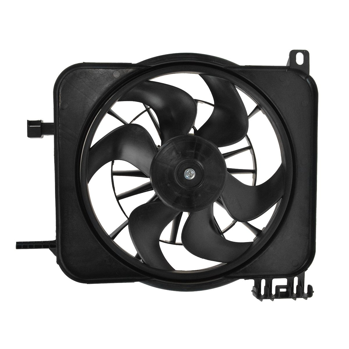 with A//C for 95-05 Chevy Cavalier Radiator Cooling Fan 2.2L, 2.3L or 2.4L