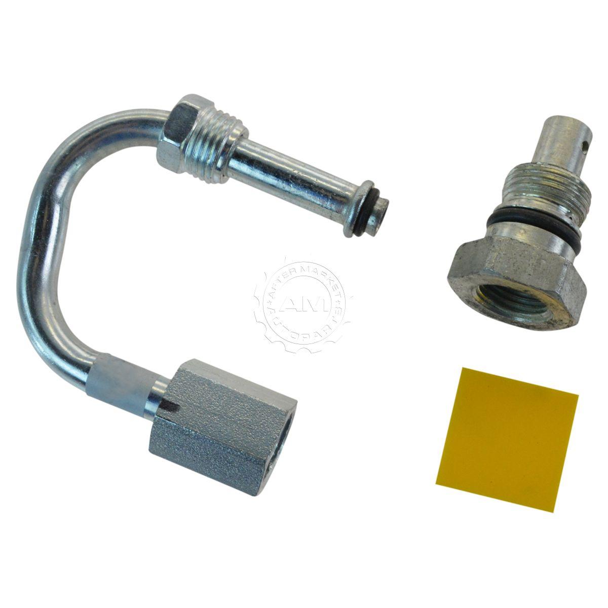 Oem power steering flow control valve for chevy gmc pickup for Motorized flow control valve