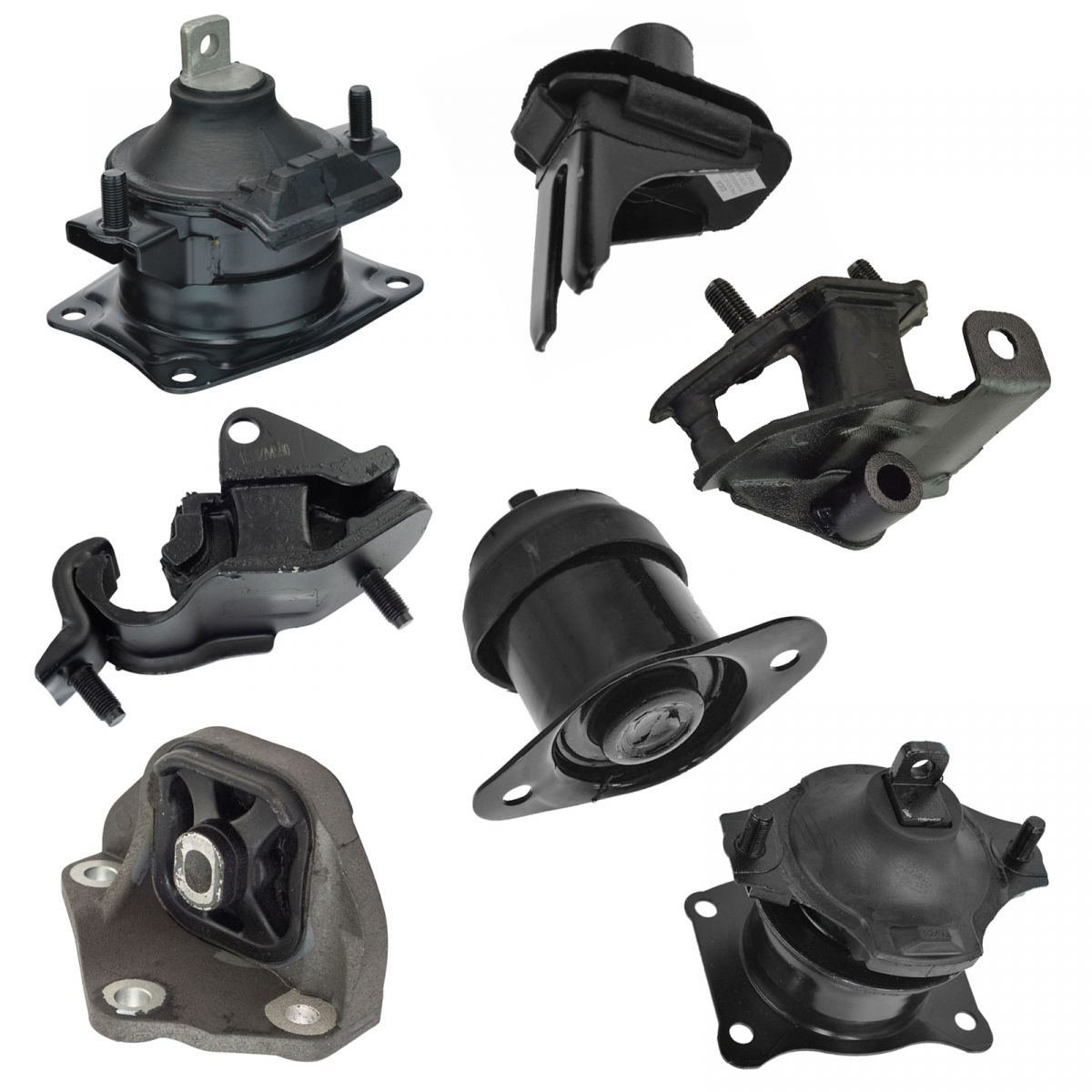 7 Piece Engine & Transmission Motor Mount Kit For 04-08