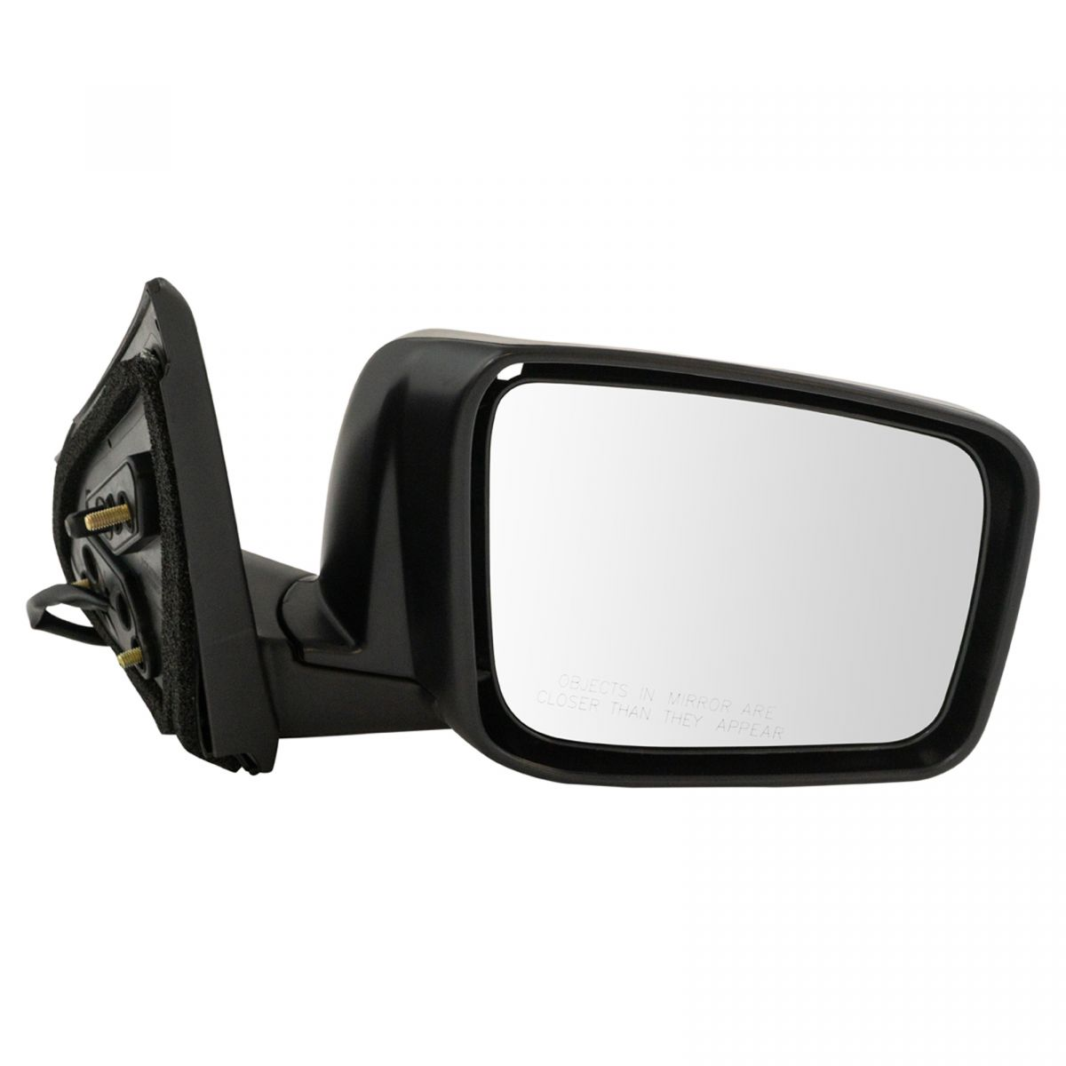 Value Mirror Driver Left Side Power Heated Primered LH Hand For Honda OE Quality Replacement