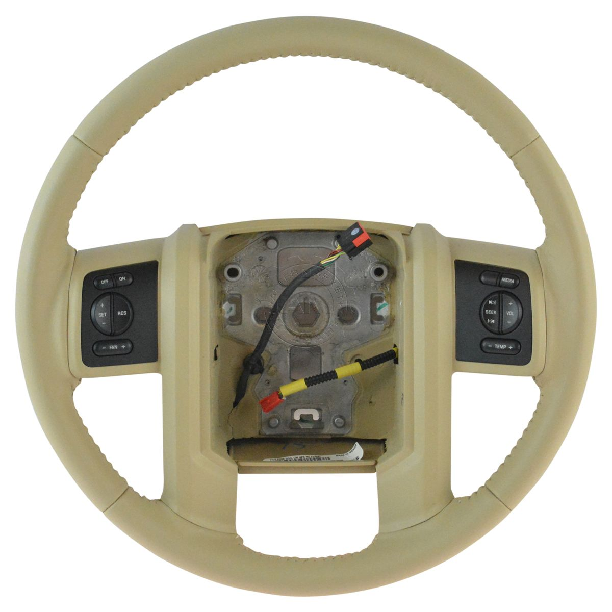 Oem Leather Steering Wheel W Radio Cruise Control Buttons For 1955 Ford F100 Truck Wheels Super Duty