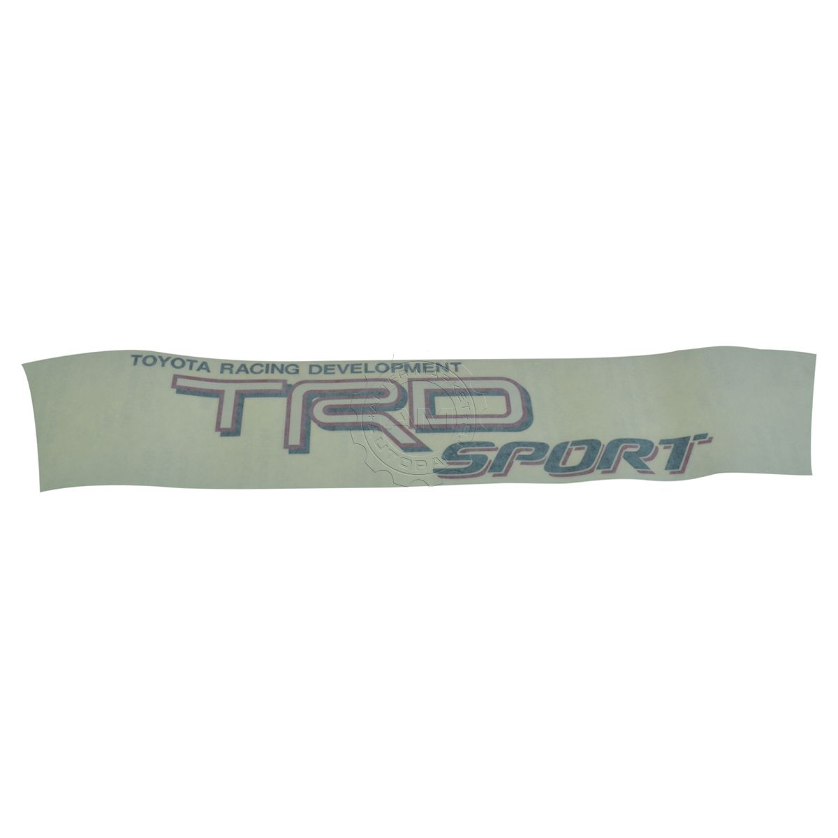 Oem bedside toyota racing development trd sport decal lh or rh for toyota tacoma