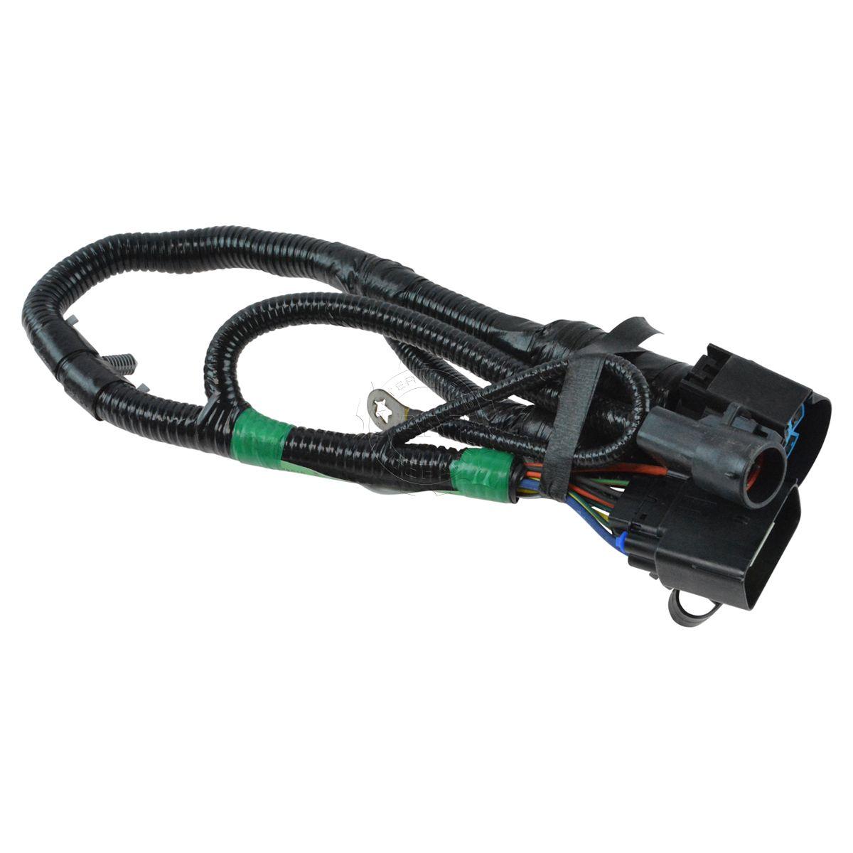 oem 7 way pin connector plug trailer towing harness. Black Bedroom Furniture Sets. Home Design Ideas