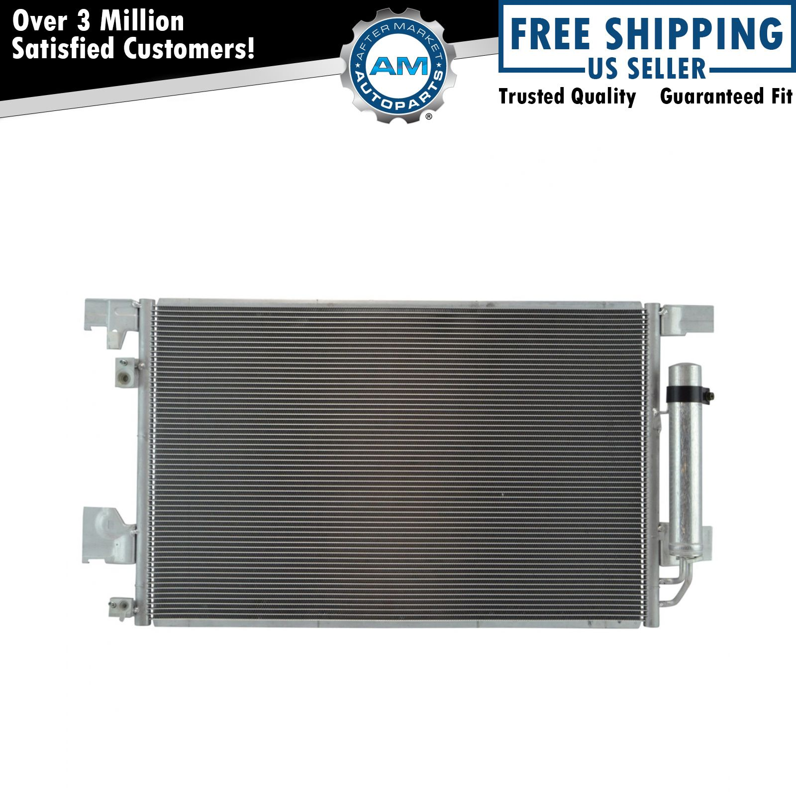 AC Condenser A//C Air Conditioning with Receiver Drier for Lancer Evo Outlander