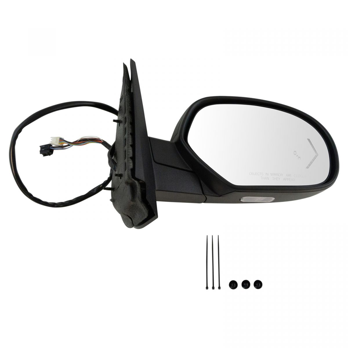 NEW Mirror Glass 04-06 TOUAREG Driver Left Side DIMMING ***FAST SHIPPING***