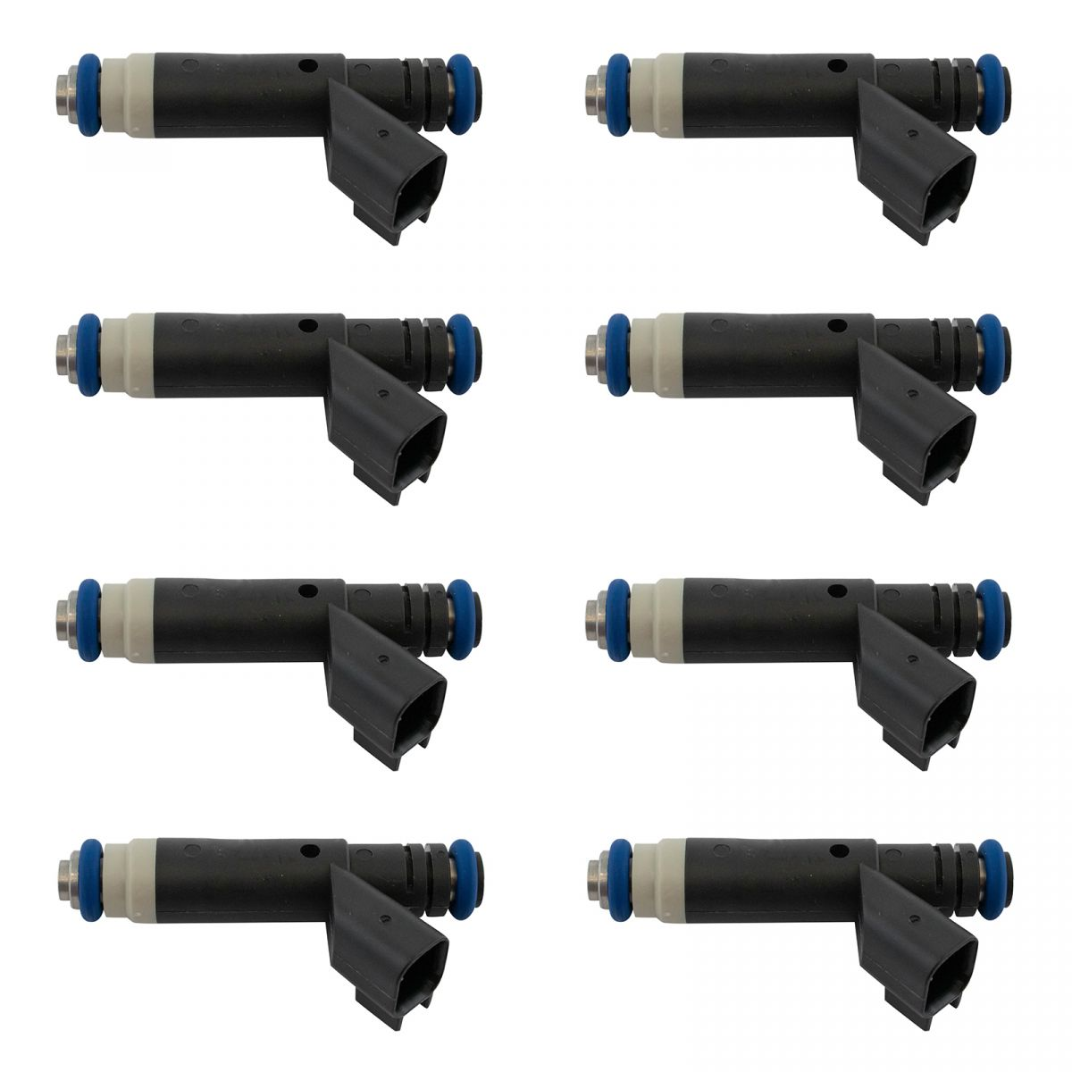 Engine Fuel Injector 8 Piece Set For Ford 4 6l Sohc V8 New