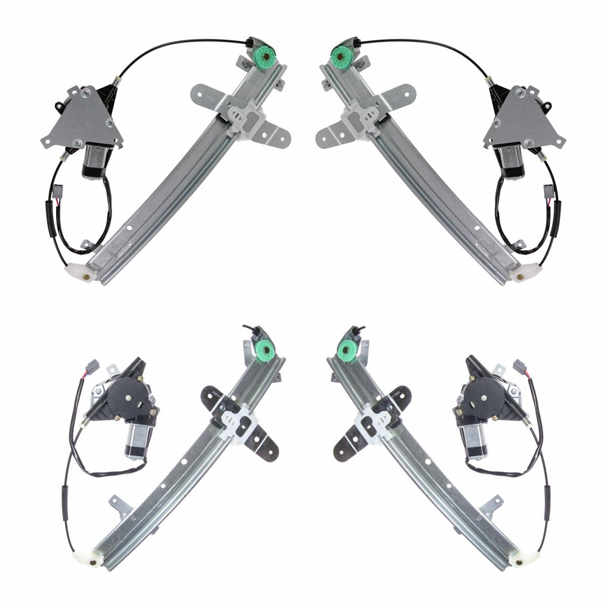 Right Power Window Regulator without Motor for Ford Mercury AUTOPA 6W7Z-5427008-AA Rear Left