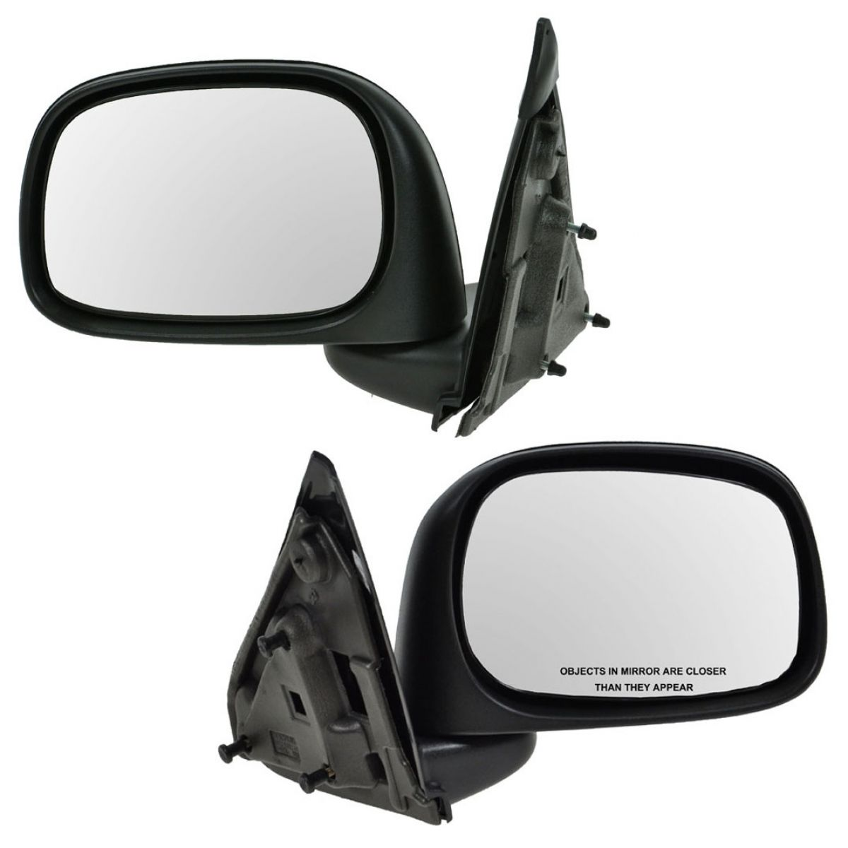Manual Door Mirror Right RH Passenger Side for 02-08 Dodge Pickup Truck Ram