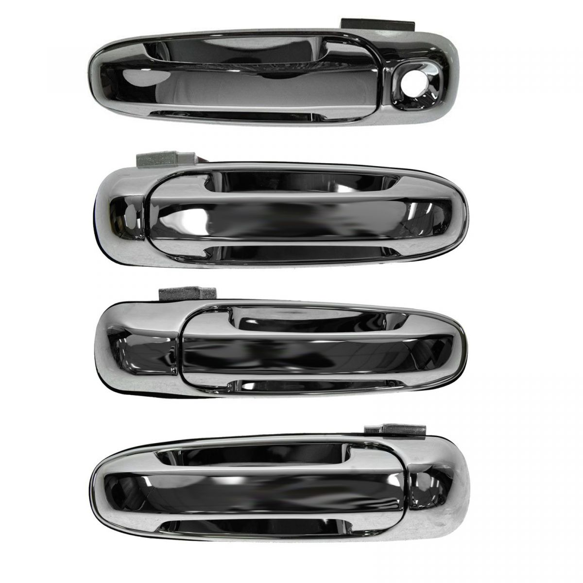 Front Rear Chrome External Outside Door Handle Kit Set 4pc for Maxima Murano