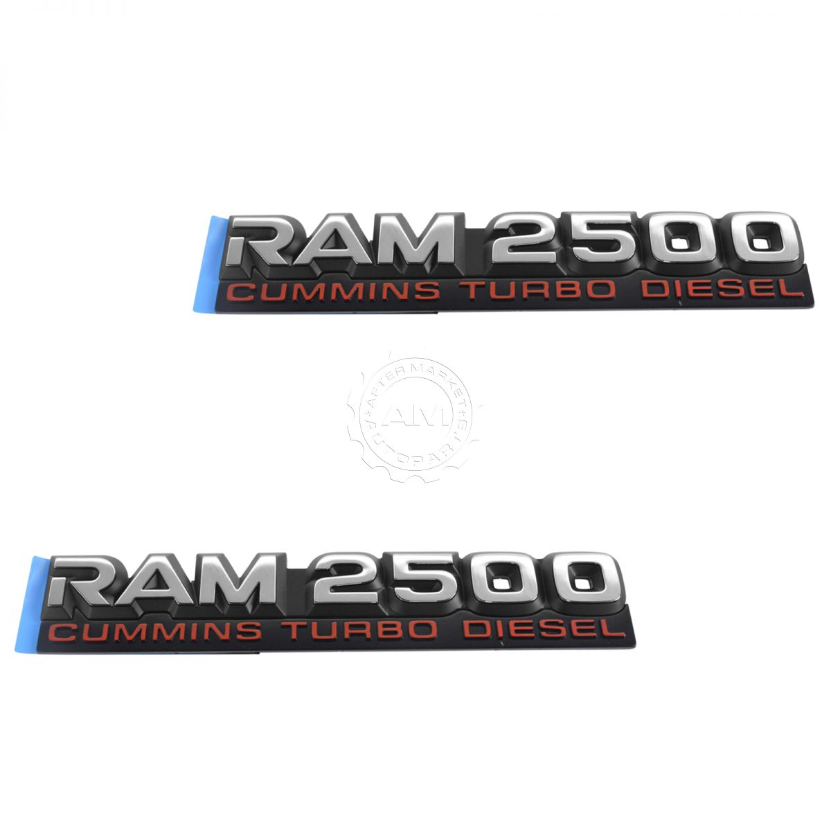 Cummins Turbo Diesel >> Oem Ram 2500 Cummins Turbo Diesel Door Nameplate Emblem Pair Set For