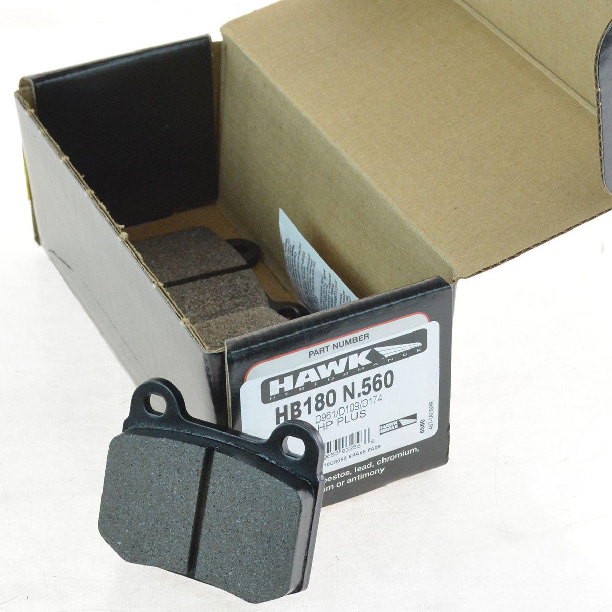Brembo Ceramic Rear Brake Pad Set For G35 Lancer Evo 350Z Impreza BRZ WRX STI