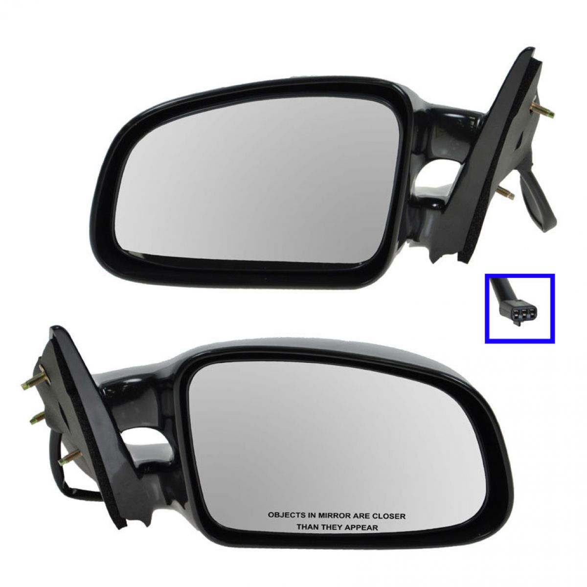 Power Side Mirrors Pair Set Left Lh Right Rh For 97 03 Pontiac Grand Prix Ushirika Coop