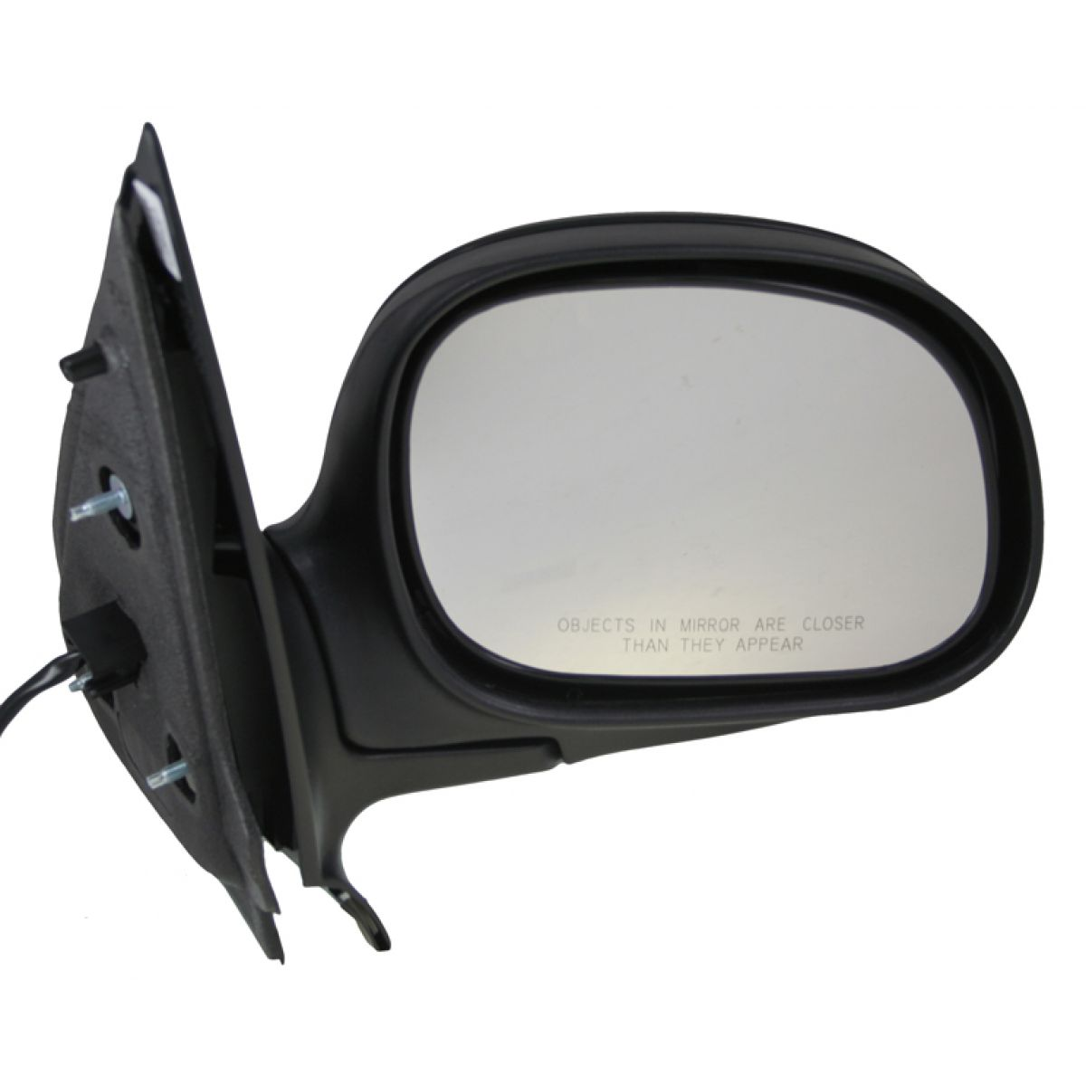 Gloss Black Power Folding Unheated Mirror RH Right for Expedition F150 Pickup