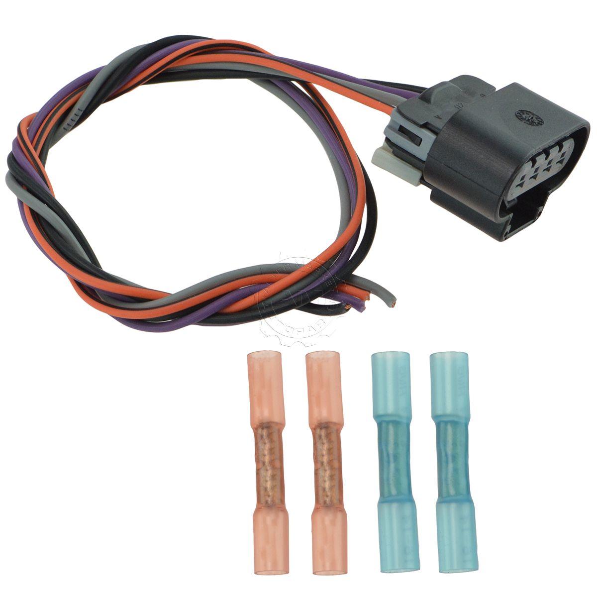 delphi fa10003 fuel pump wiring harness connector oval plug for rh ebay com