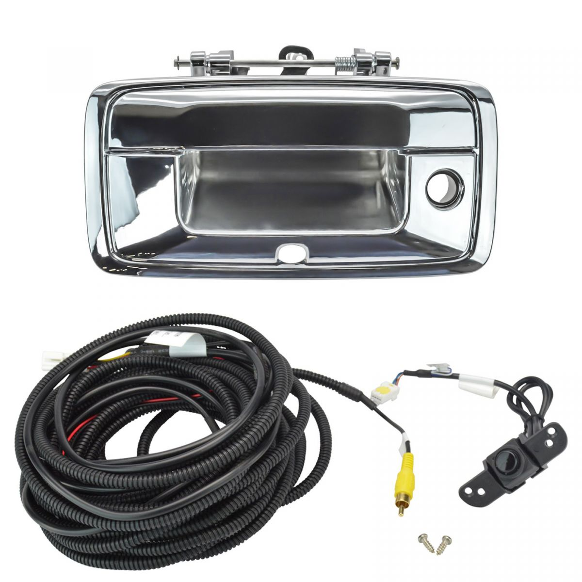 Tailgate Handle Chrome with Camera and 26 feet cable