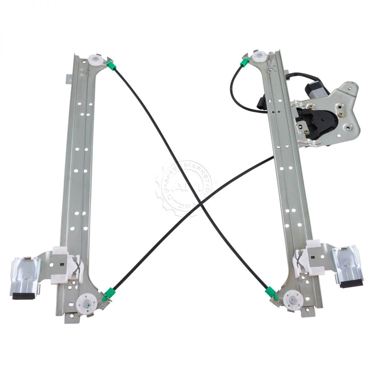 Power Window Regulator w// Motor Rear Driver Side Left LH for Chevy GMC Cadillac