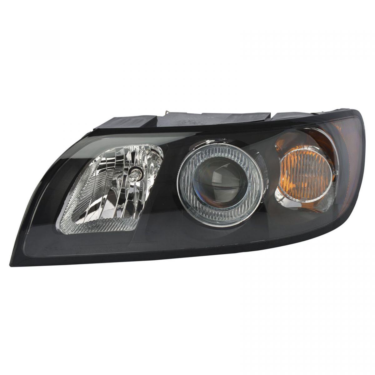 Headlight Headlamp Driver Side Left Lh For 04 07 Volvo S40 V40 V50 2004 V4 0 Wagon