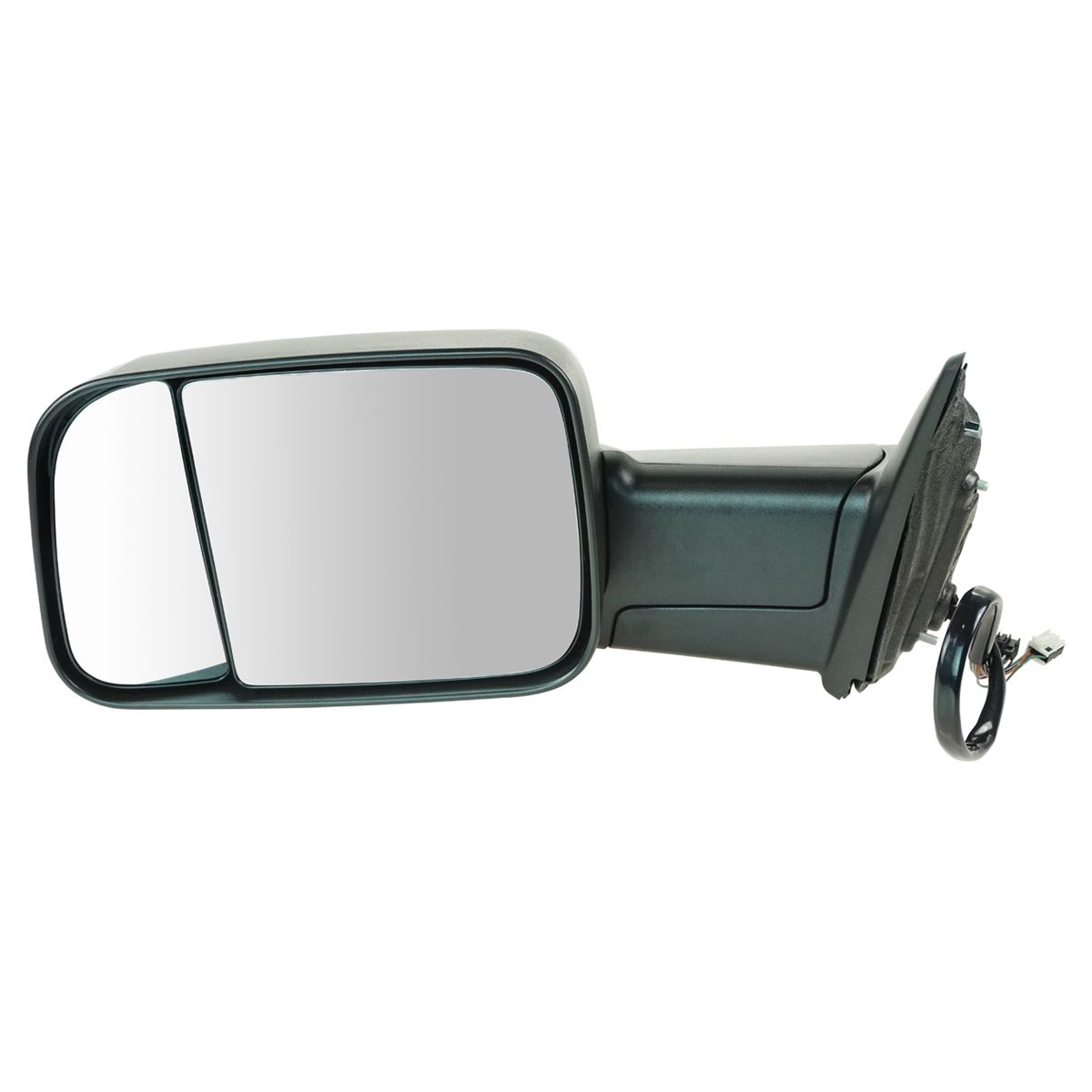 Power Heated Side Mirror w// Puddle Light Textured Driver Left LH for Chevy GMC