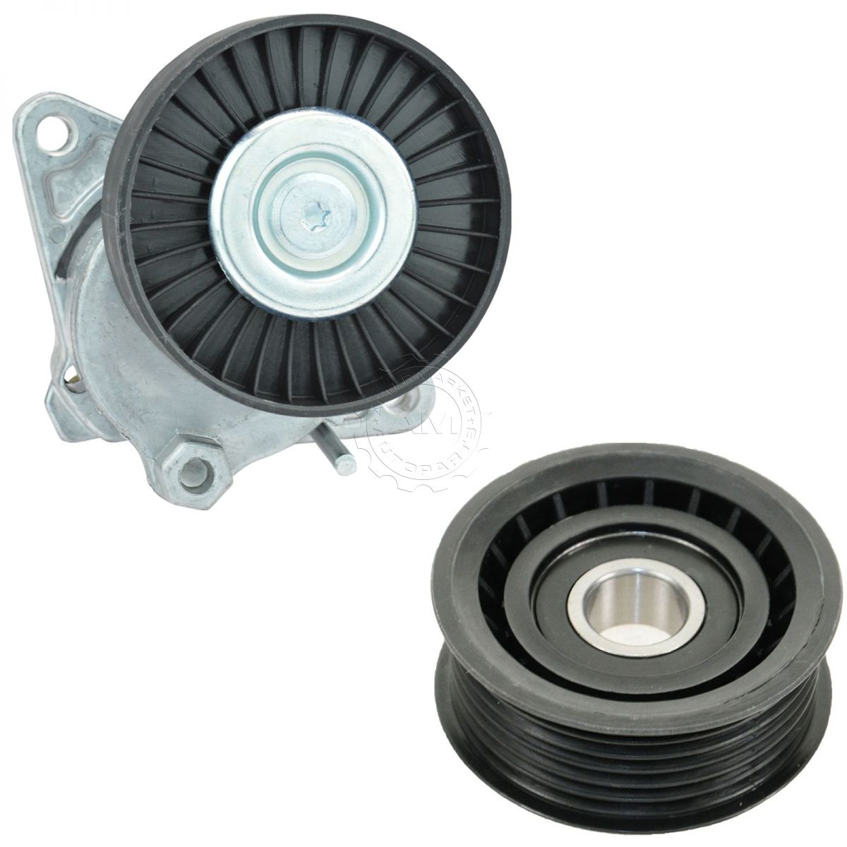 Serpentine Belt Tensioner  U0026 Idler Pulley Kit For Chrysler