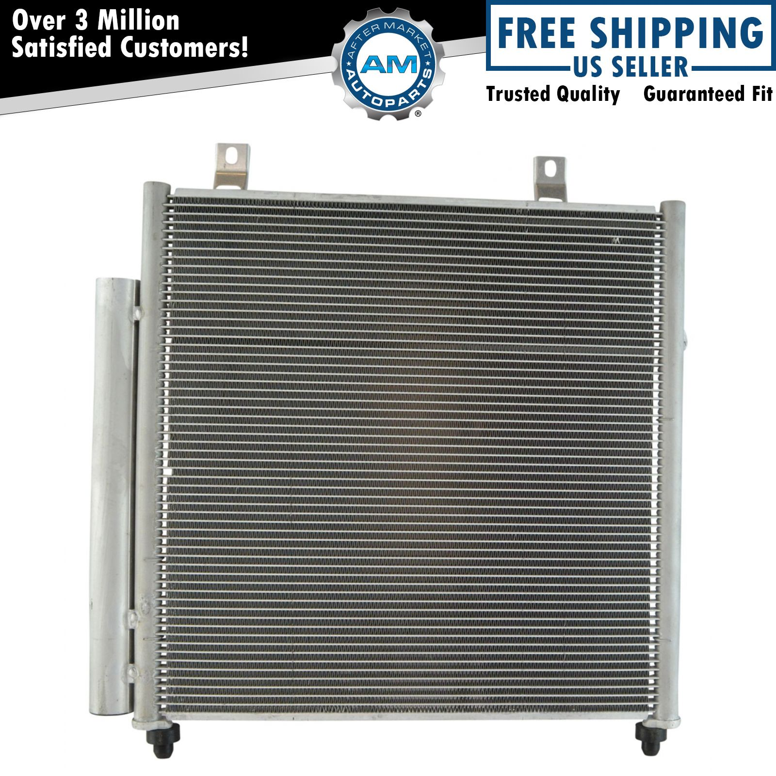 ac condenser a/c air conditioning with receiver dryer for mitsubishi