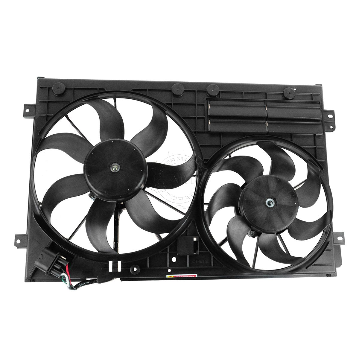 Radiator Dual Cooling Fan Assembly For 05 13 Volkswagen Vw