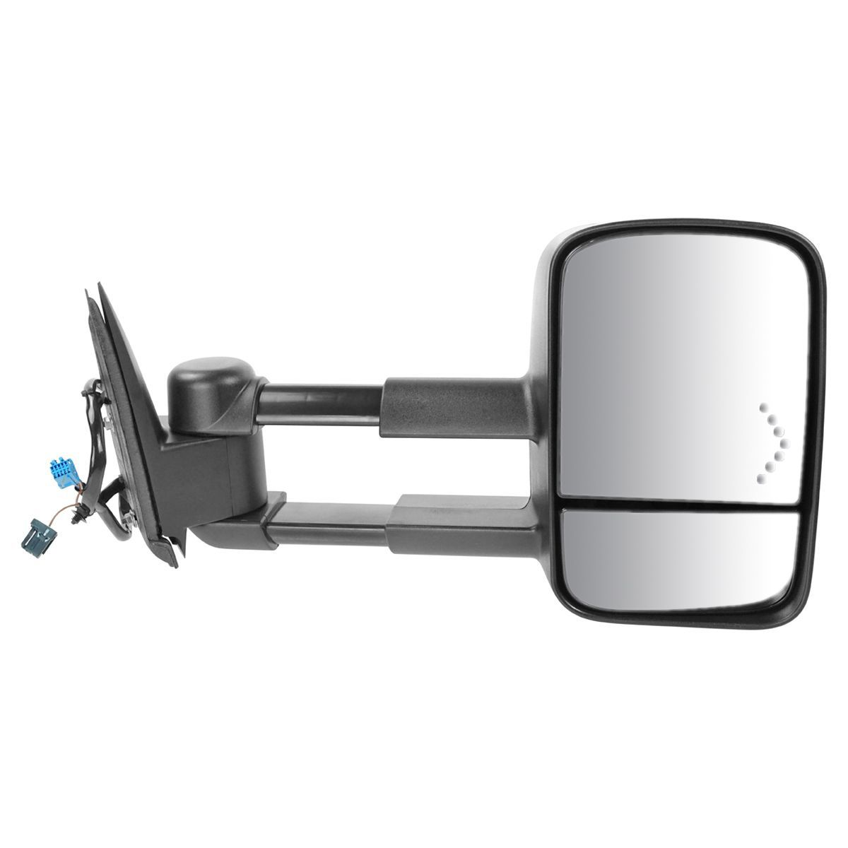 Power Mirror For 2003-06 Chevy Silverado 1500 Left Side Manual Fold With Signal