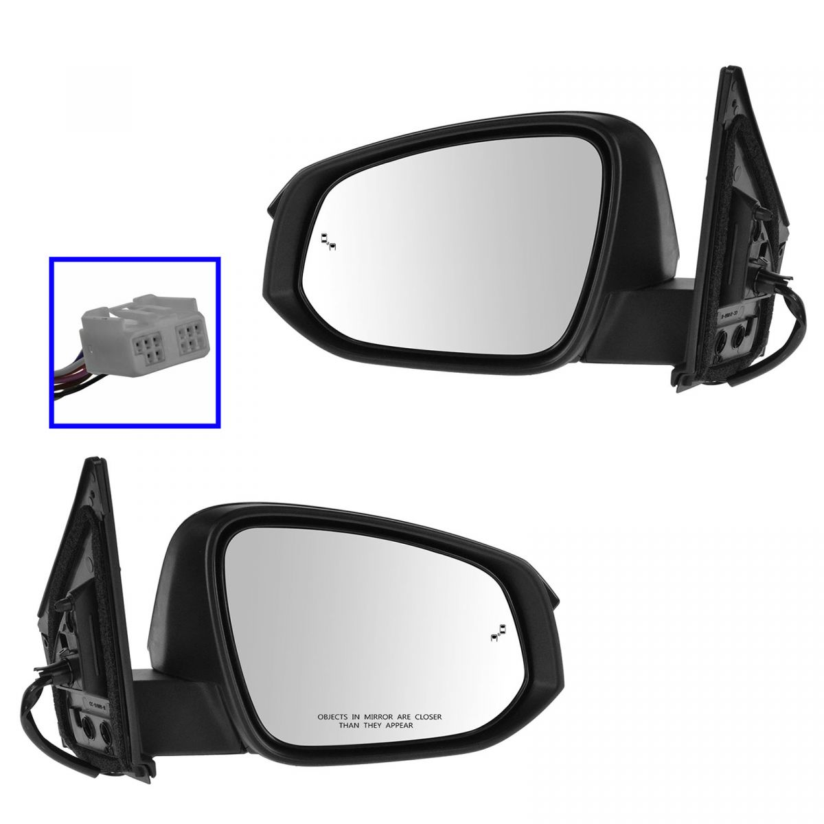 Power Turn Signal side view Mirror Pair Set for Hyundai Accent NEW