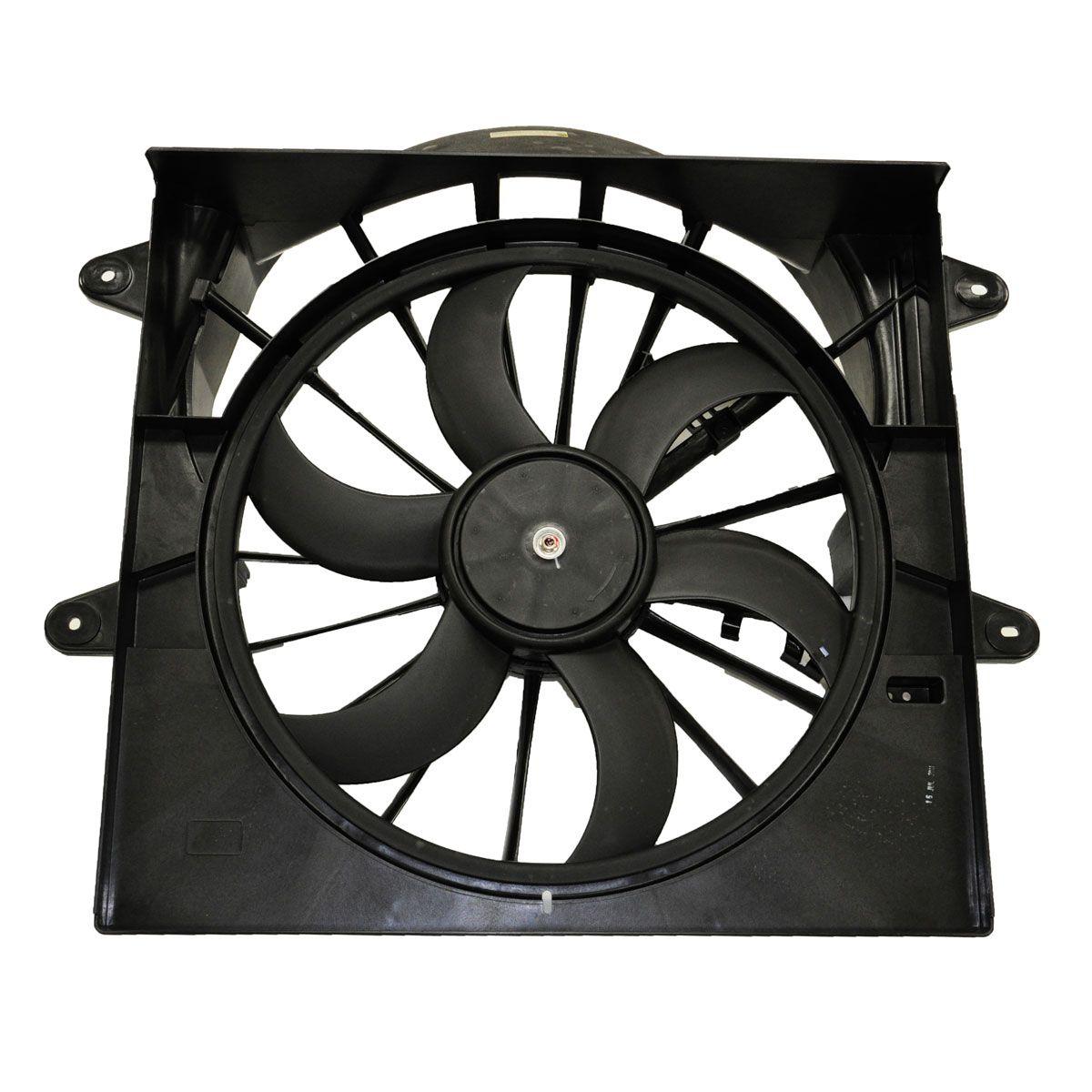 Radiator Cooling Fan For 95-96 Jeep Cherokee w// blade motor /& shroud