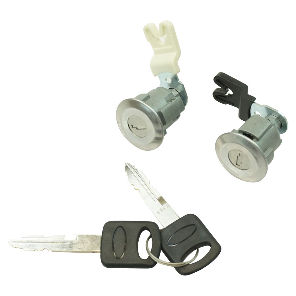 Door Lock Cylinder & Keys Set of 2 for Ford Mercury Mazda Truck SUV