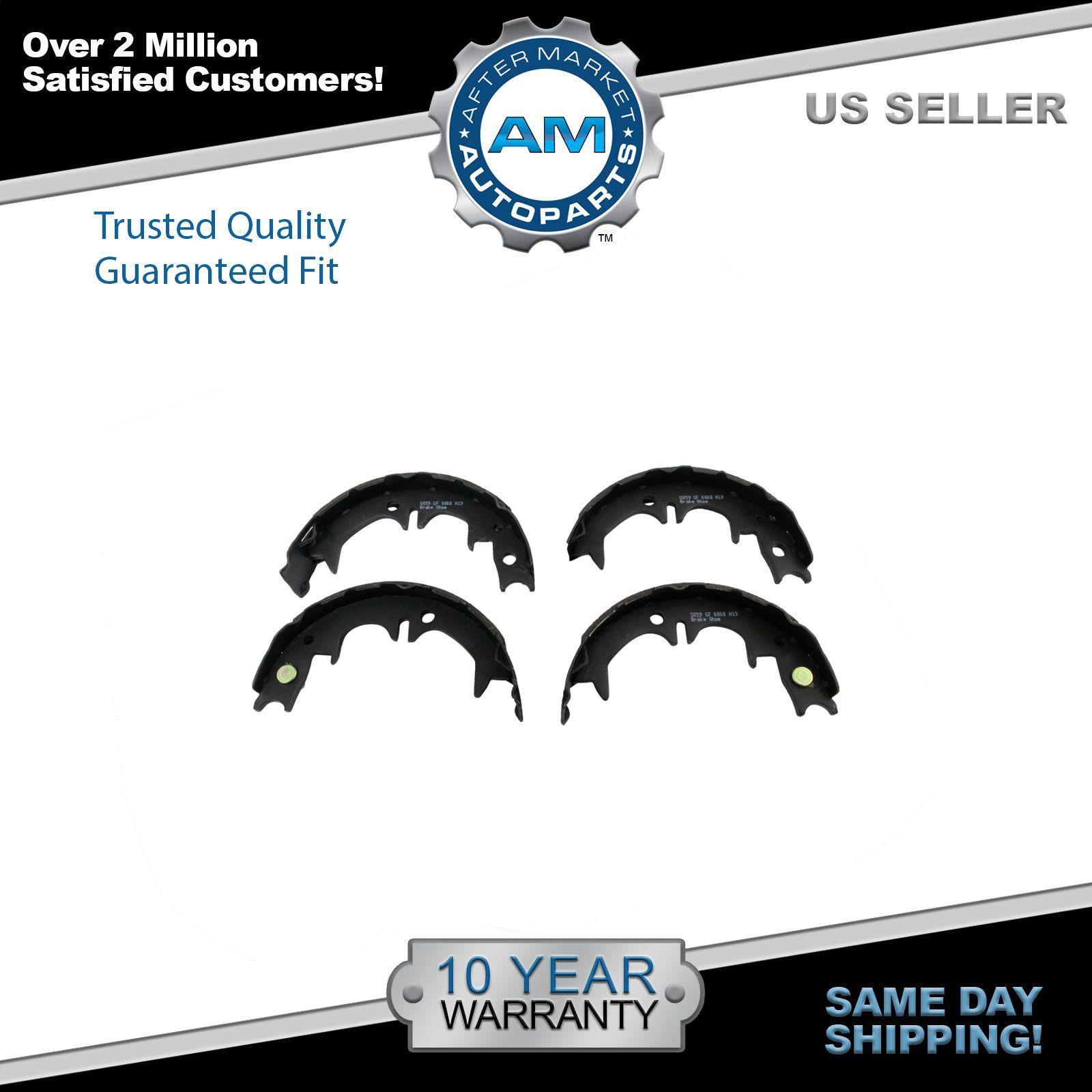 Set Of Rear Semi-Metallic Parking Brake Shoes For Avalon ES300 Camry Highlander