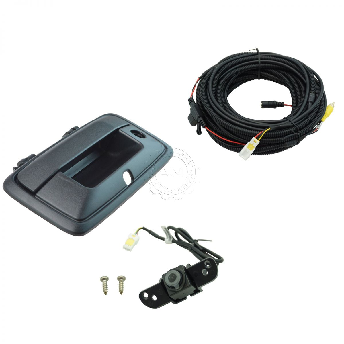Rear View Camera Add On Kit w/ Wiring Harness & Tailgate Handle for GM  Pickup