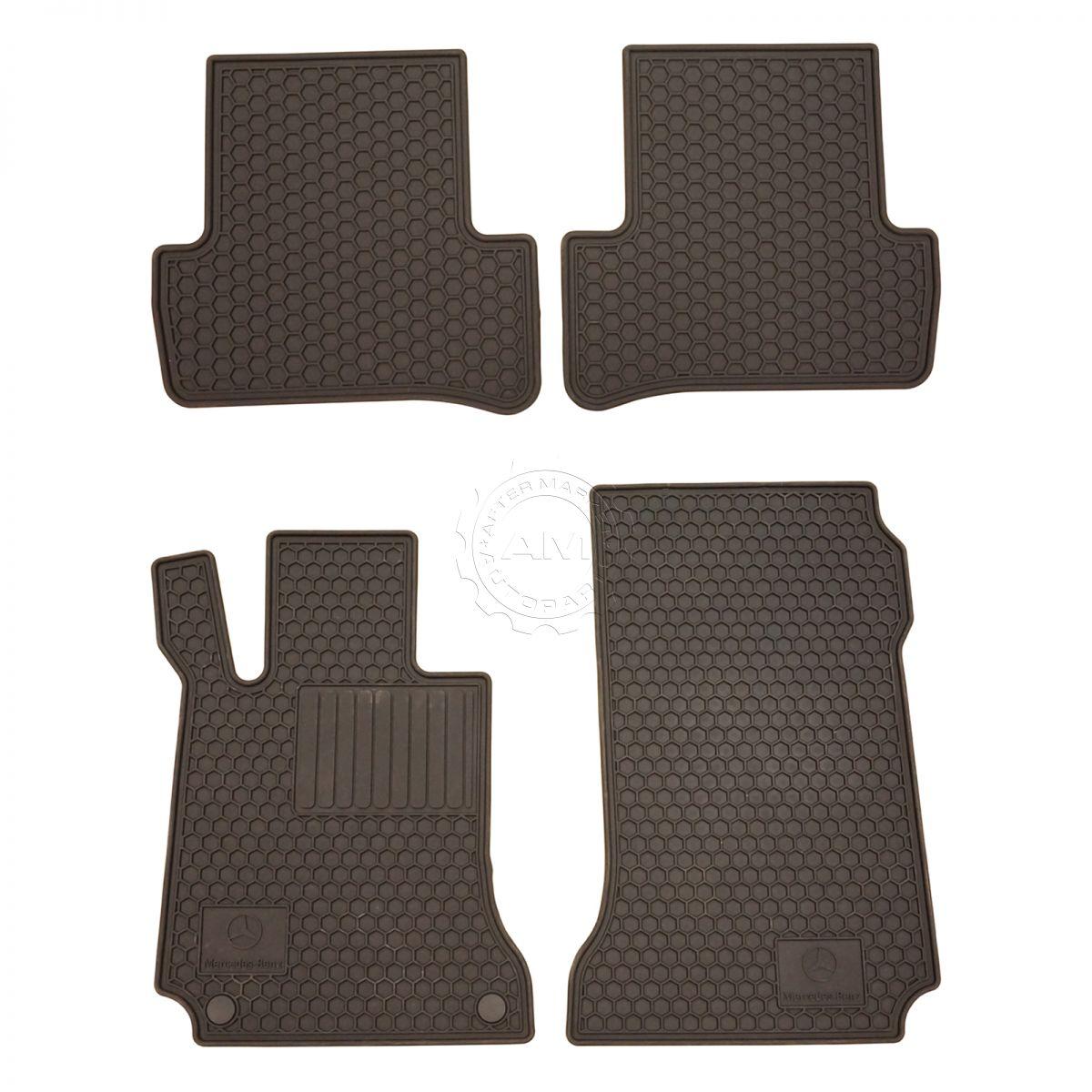 floor rubber custom all benz metris mercedes weather mats