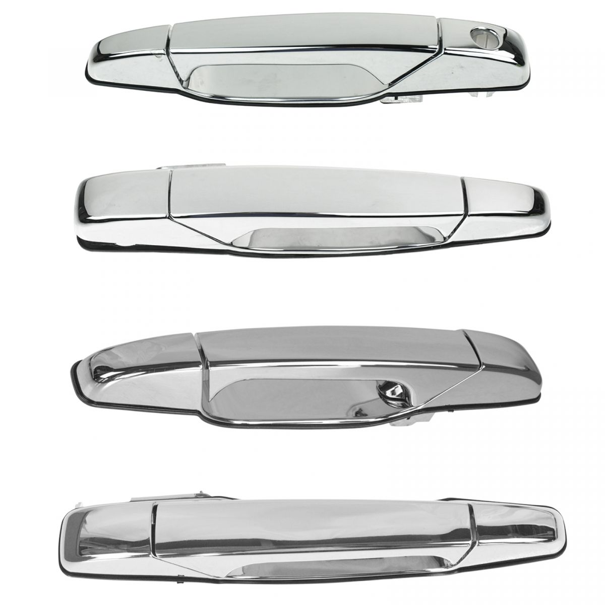 Door Handles Outside Exterior Front /& Rear Kit Set of 4 for Chevy GMC Pontiac