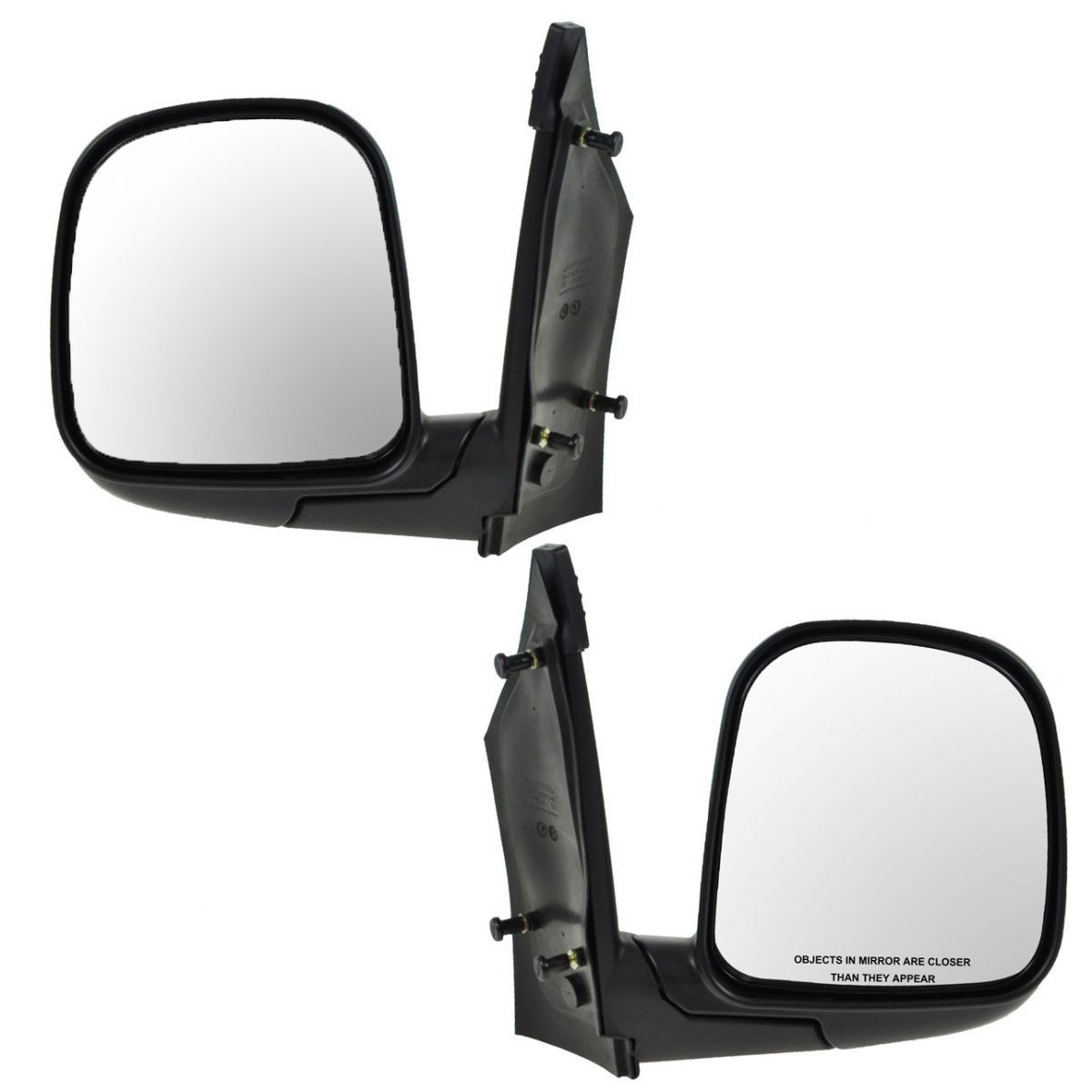 Manual Side View Mirror Folding Driver Left LH NEW for 96-02 Express Savana