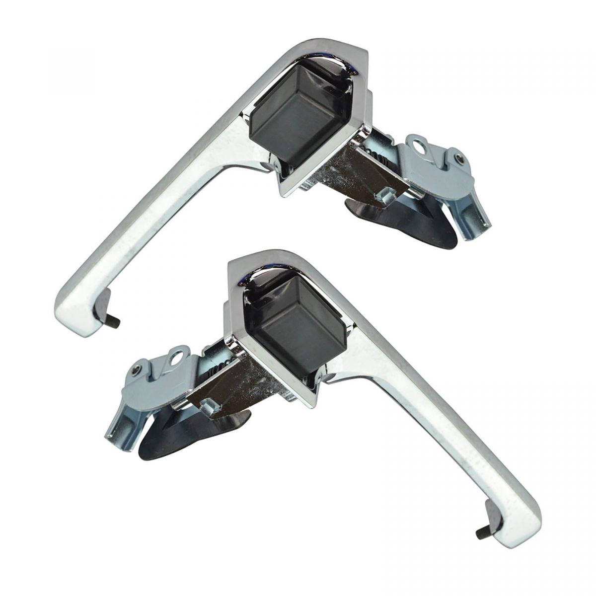 Chrome Outside Exterior Door Handle Left /& Right Pair Set for 80-96 Ford Truck