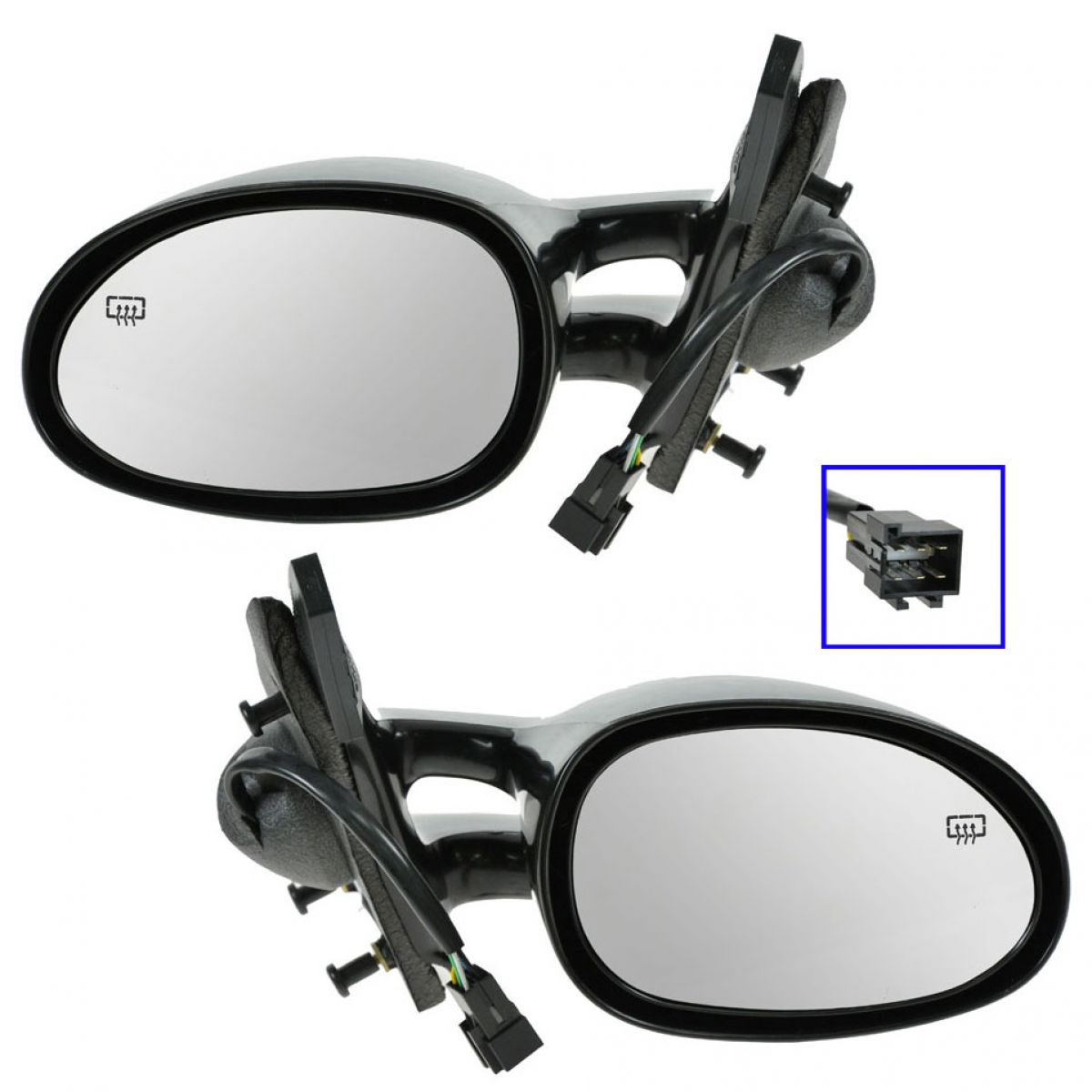 New Left and Right Pair Set DOOR MIRROR For Plymouth,Chrysler,Dodge