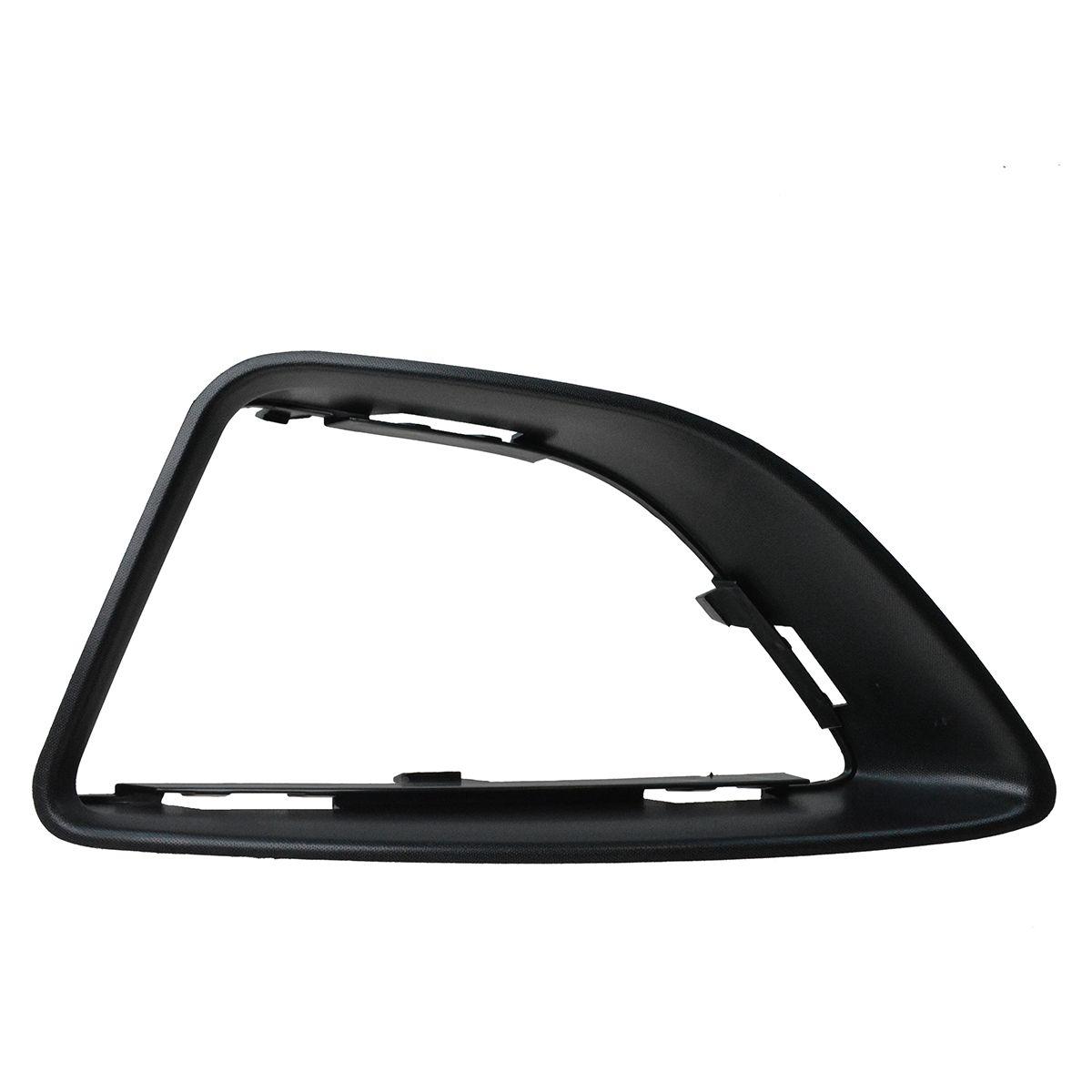 Driving Fog Light Lamp Bezel Black Plastic Driver Left Side LH for Ford Fusion