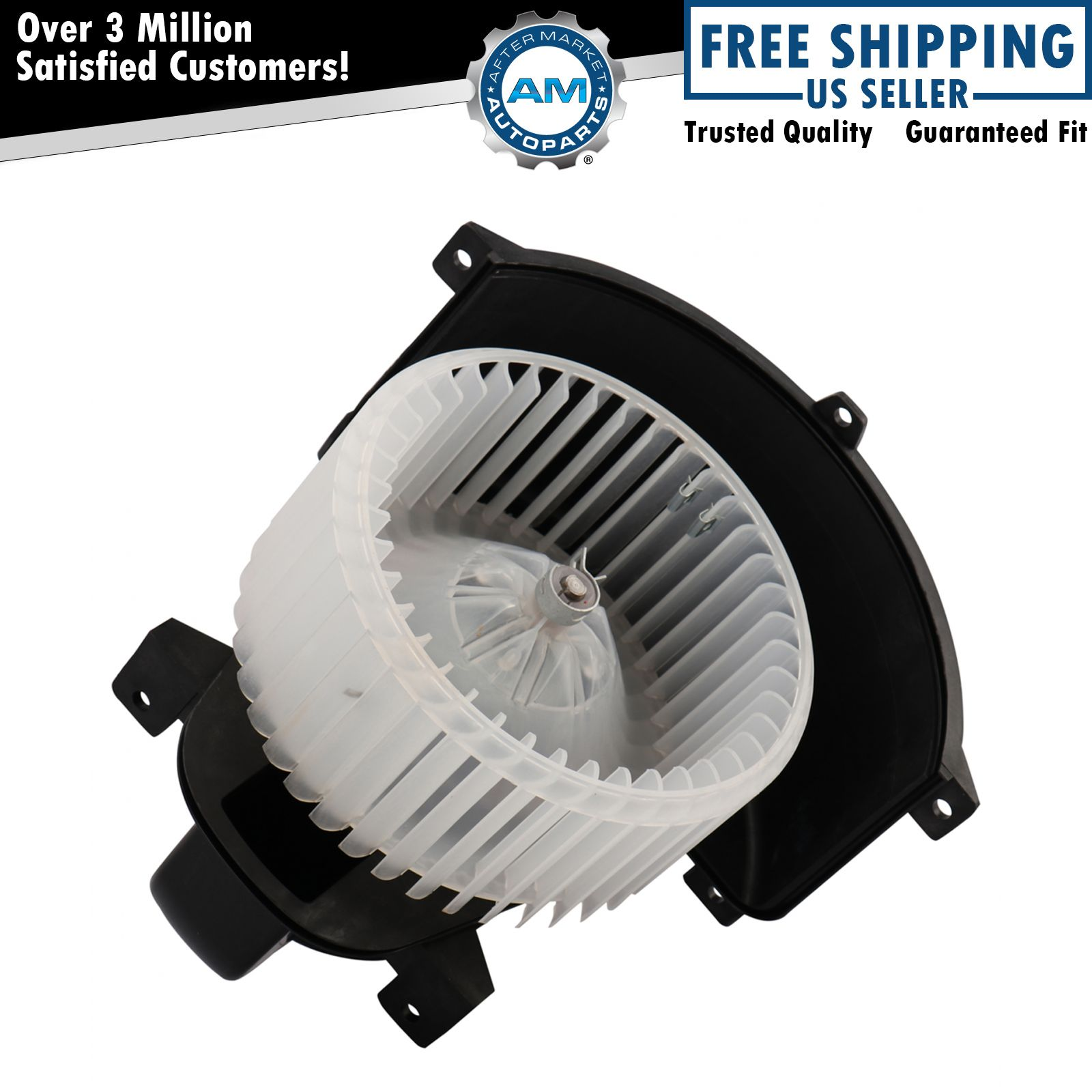 Heater Blower Motor & Cage Front for Audi Q7 Volkswagen ...