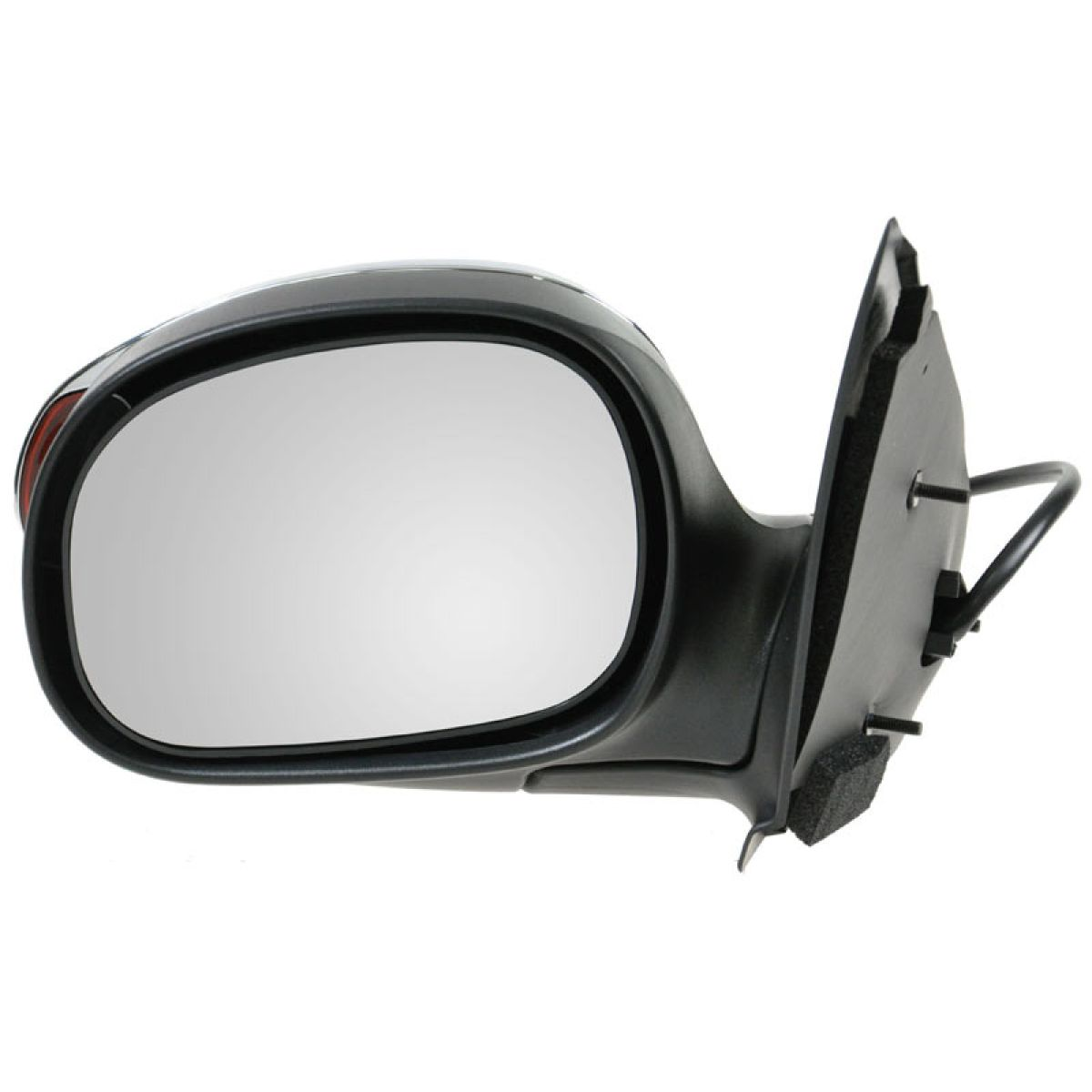 Mirror Power Signal Chrome Driver Side Left LH For Ford