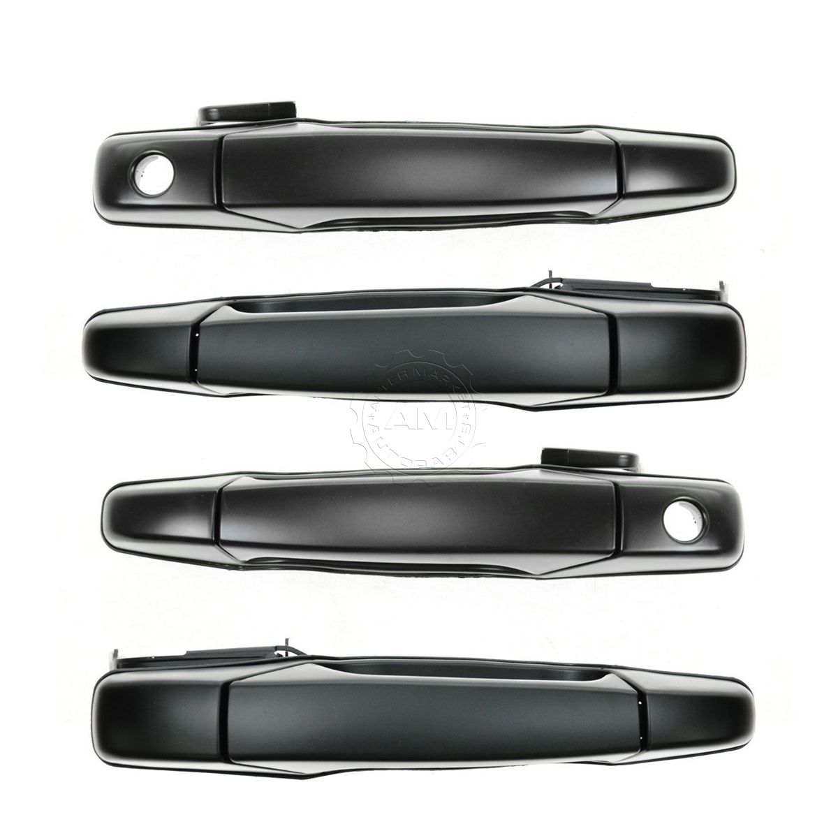Door Handle Textured Black Front /& Rear Kit Set of 4 for Chevy GMC Pickup SUV
