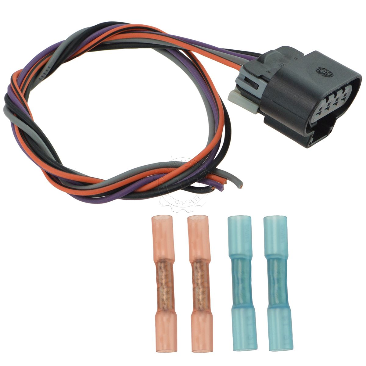 Delphi Fa10003 Fuel Pump Wiring Harness Connector Oval Plug For Gmc Chevy New