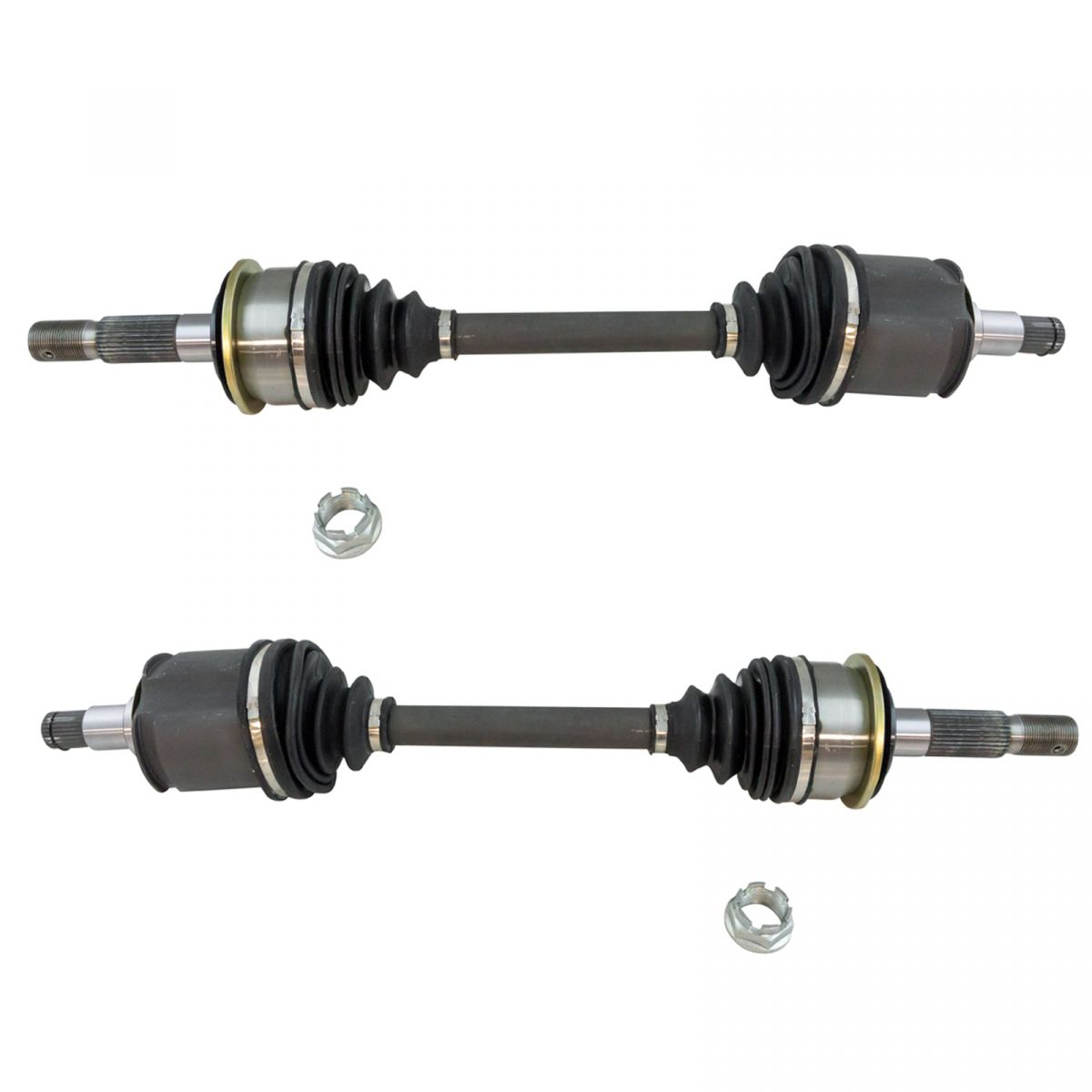 New  Complete Front CV Axle Shaft Assembly LH RH Pair 2pc Set for Sequoia Tundra