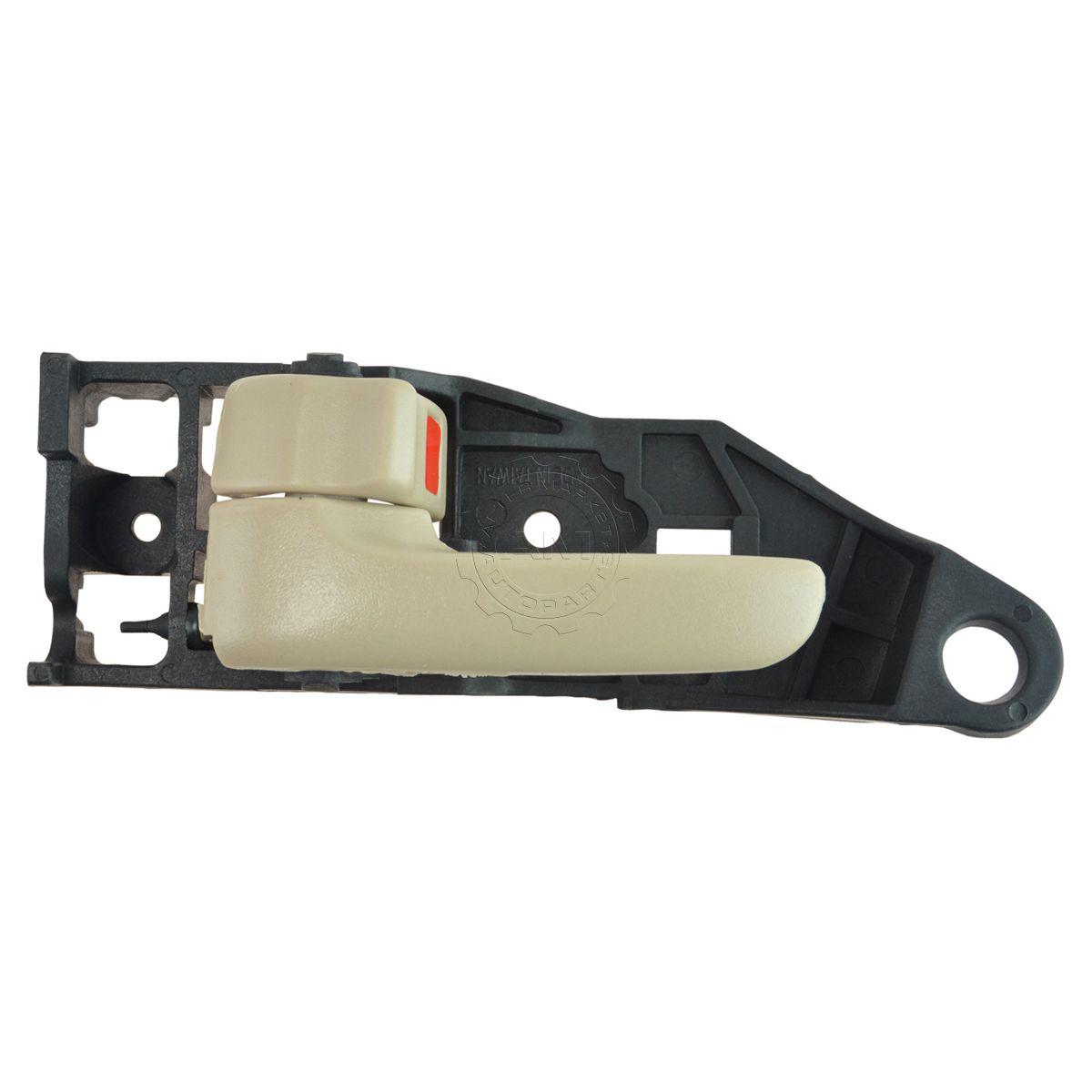 New interior inside door handle lh driver side ivory - 2000 toyota solara interior door handle ...