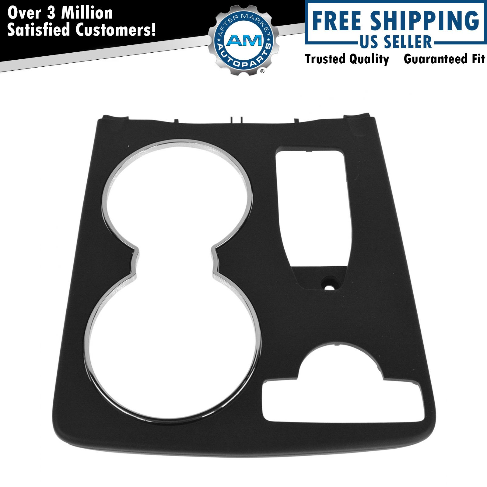 Oem cup holder trim bezel panel console mounted for for Mercedes benz cup holder replacement