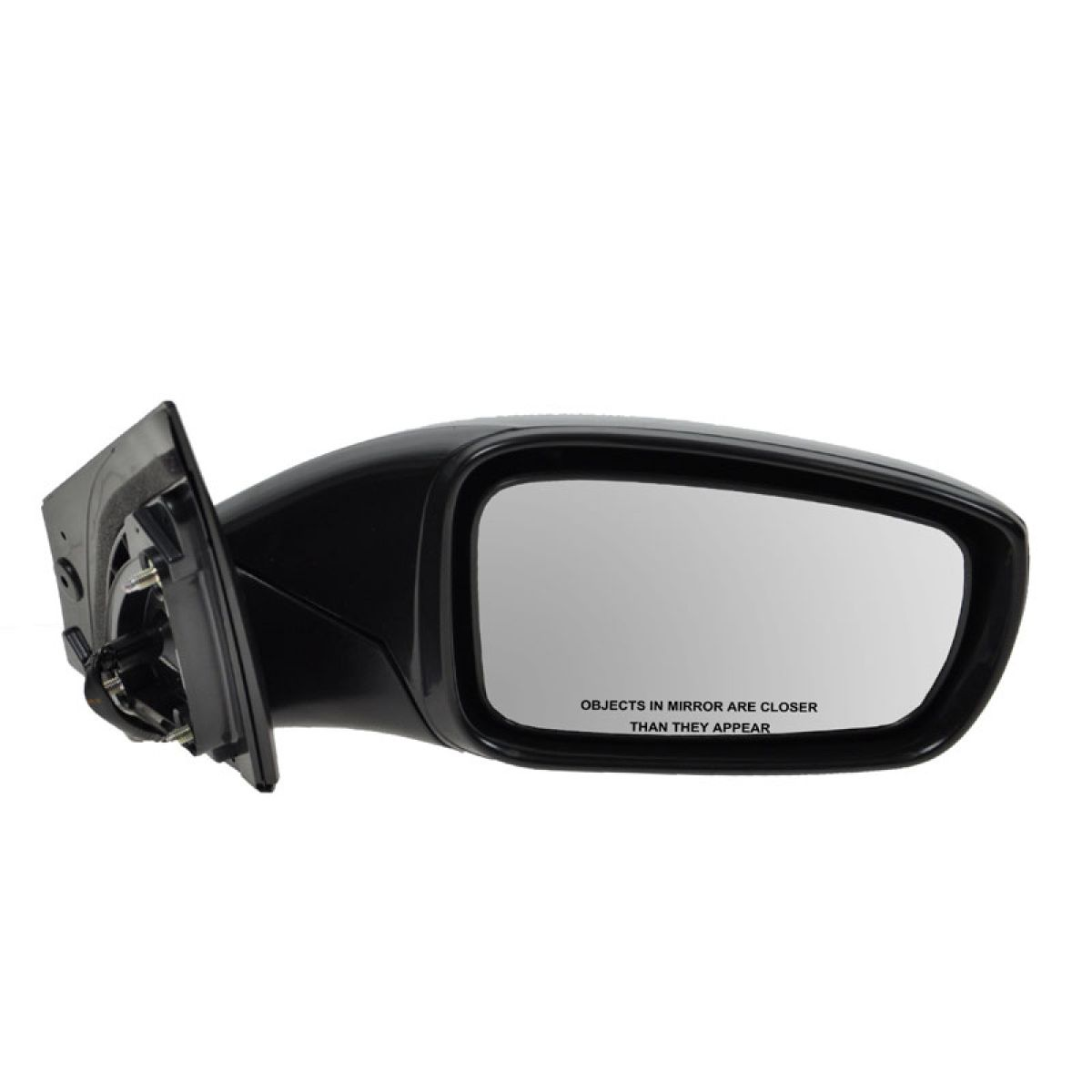 Fits 11-14 Sonata Models w//o Turn Signal Right Passenger Mirror Glass Only Hea