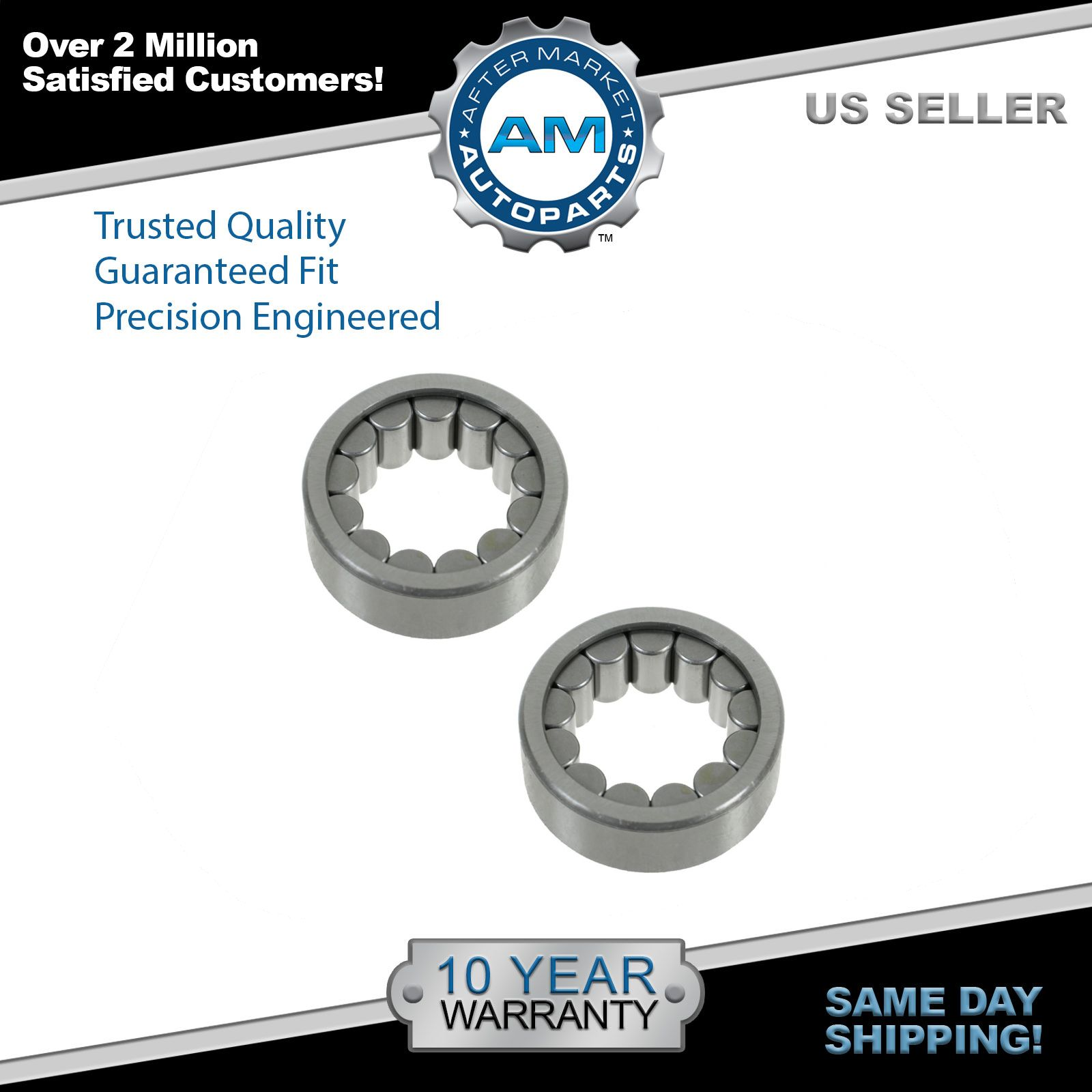 "Wheel Axle Shaft Bearing Rear Pair for GM Hummer Isuzu Saab with 8.5"" Ring Gear"