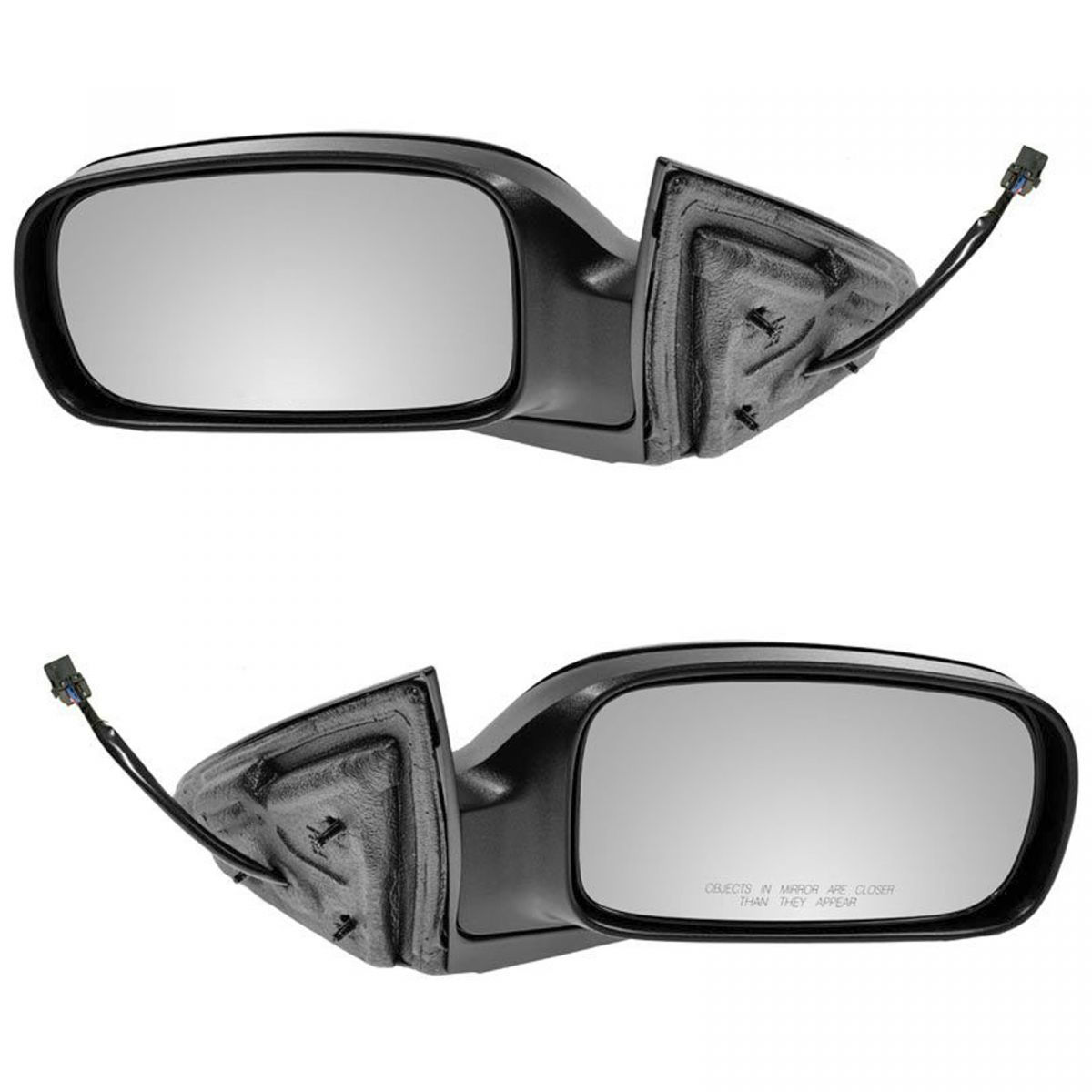 Mirror Power Heated Black Textured LH for Jeep Liberty Truck SUV New