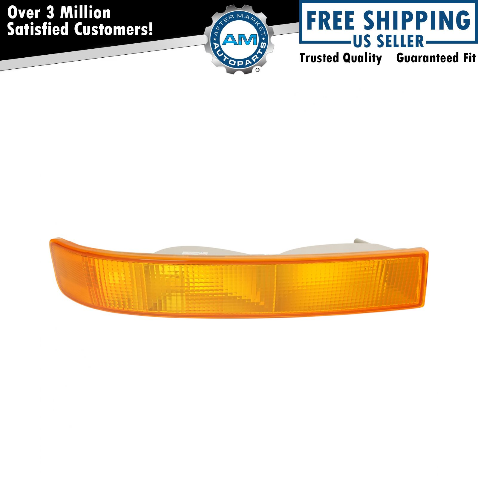 Fits 03-15 Chevrolet Express GMC Savana Signal Parking Side Marker Light 1 Pair