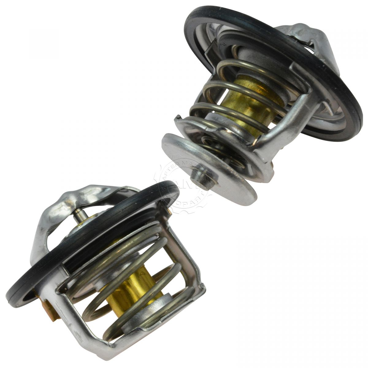 AC Delco 185 & 180 Degree Thermostat Front & Rear Kit Pair